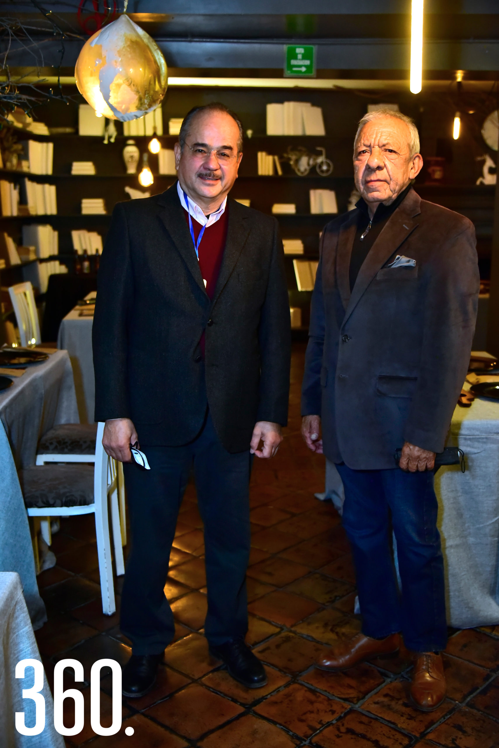 Luis Felipe Hernández Gutiérrez y Mario Dávila.