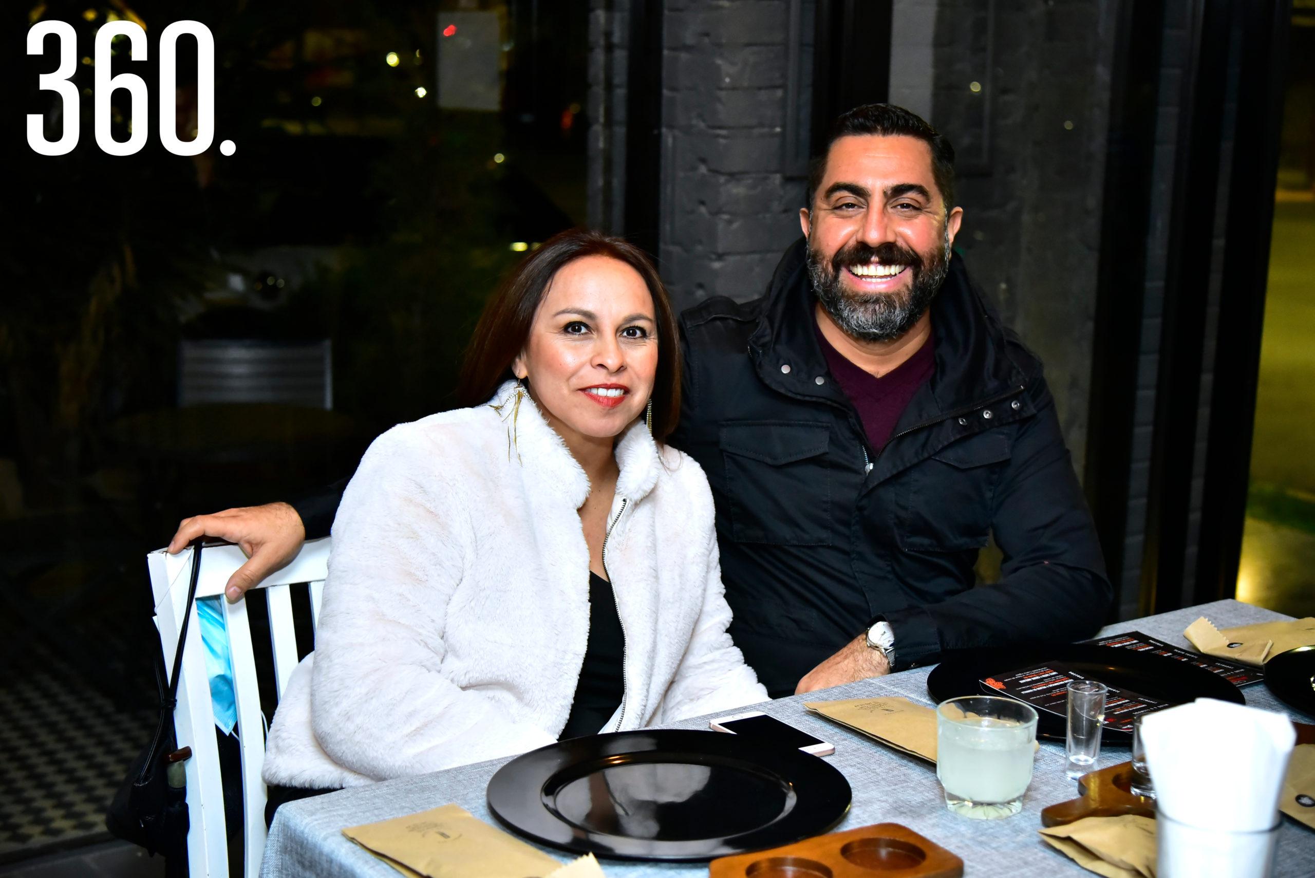 Aída Meza y Erick Hurtado.