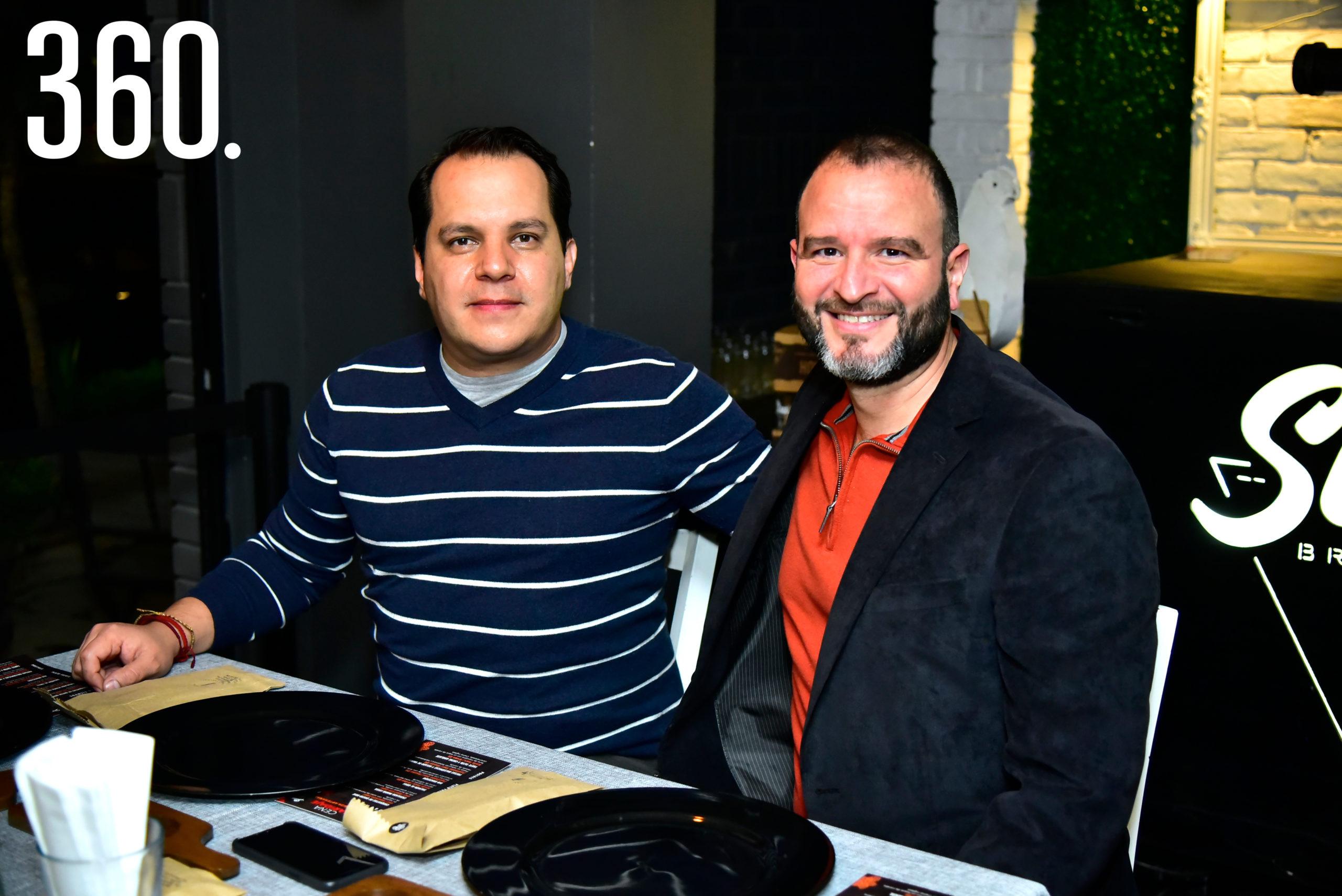 Sergio Garza y David Zamora.