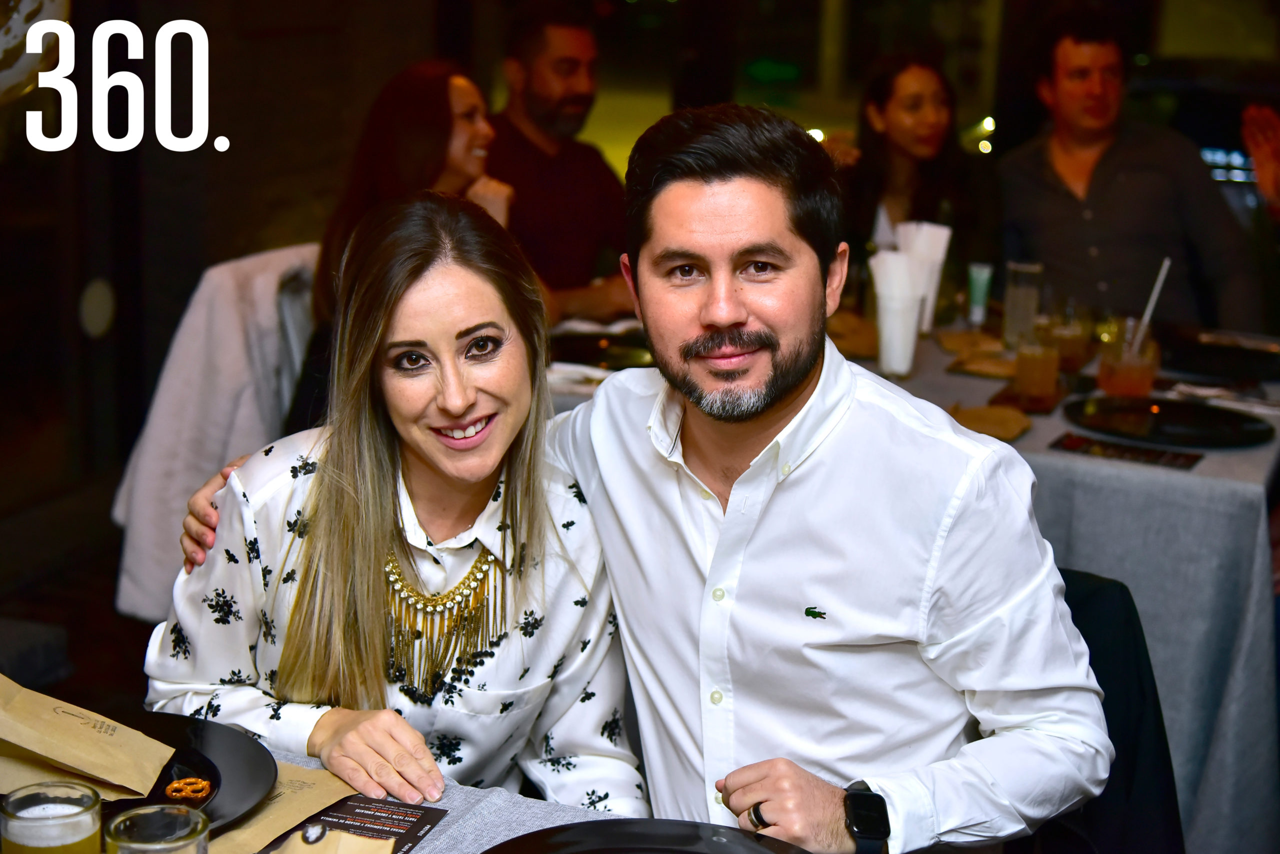 Alejandro Carmona y Ana Luisa Vargas.