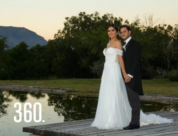 Gabriela Gómez Hernández y Eduardo Peart Zapata unieron sus vidas por medio del sacramento del matrimonio.