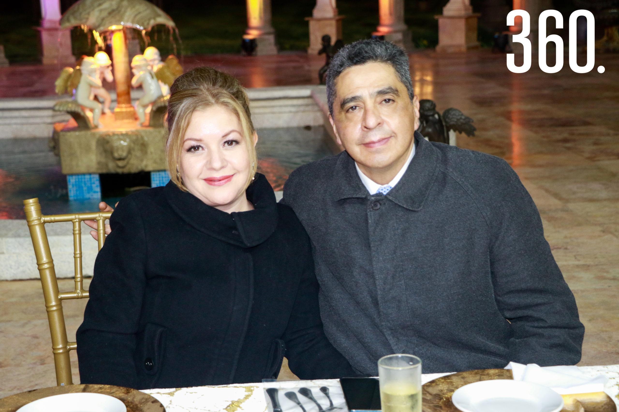 Sara Escalante y Alejandro García.