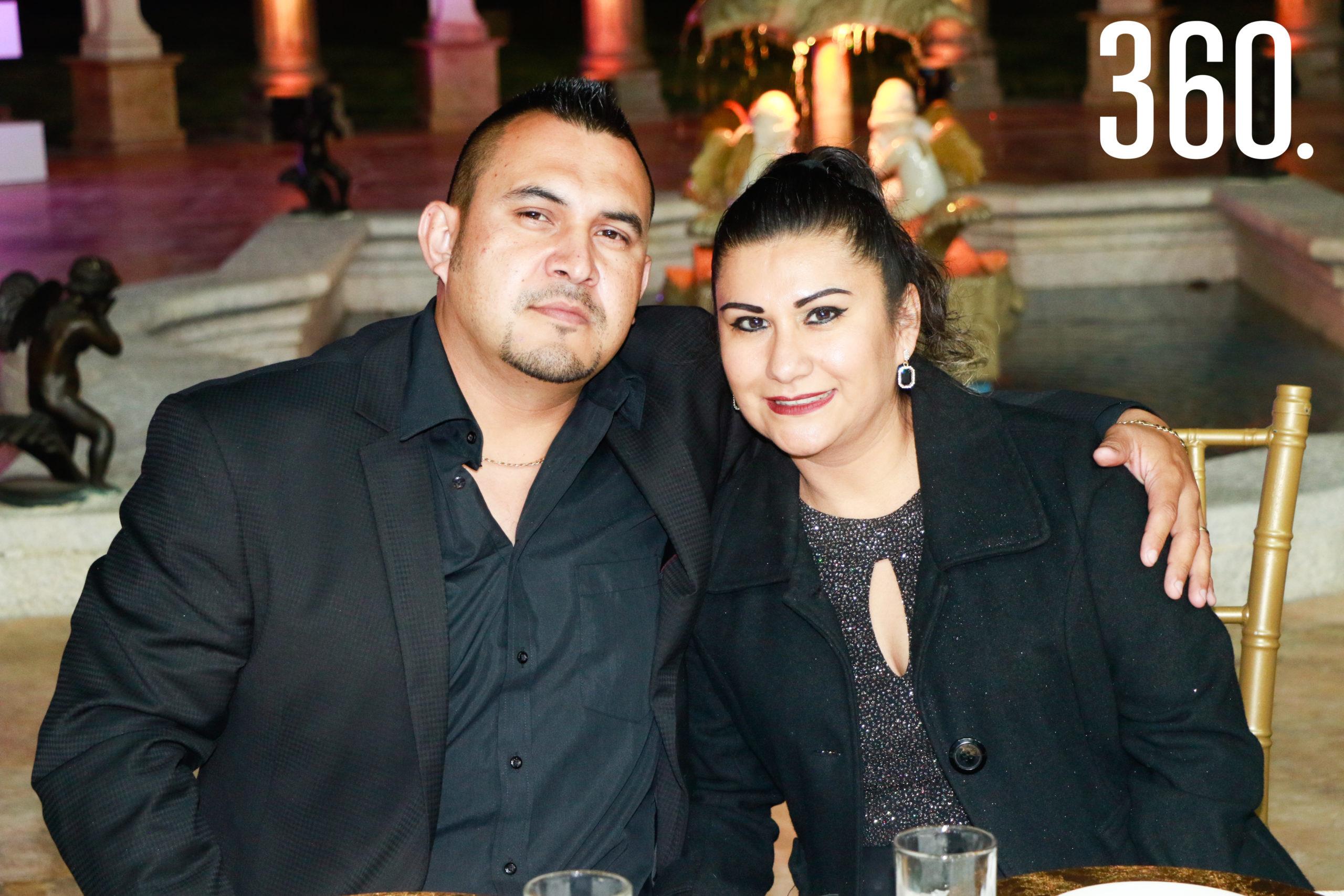 Jorge Martínez y Andrea García.