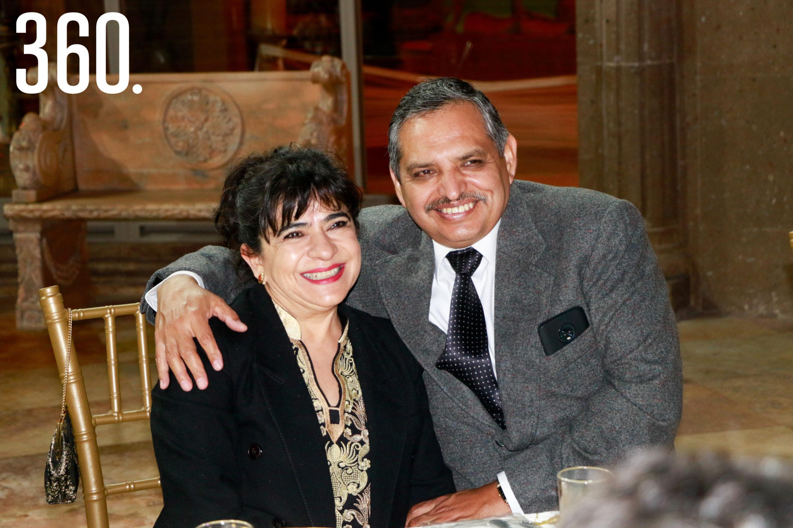 Griselda Valdés y Sergio García.
