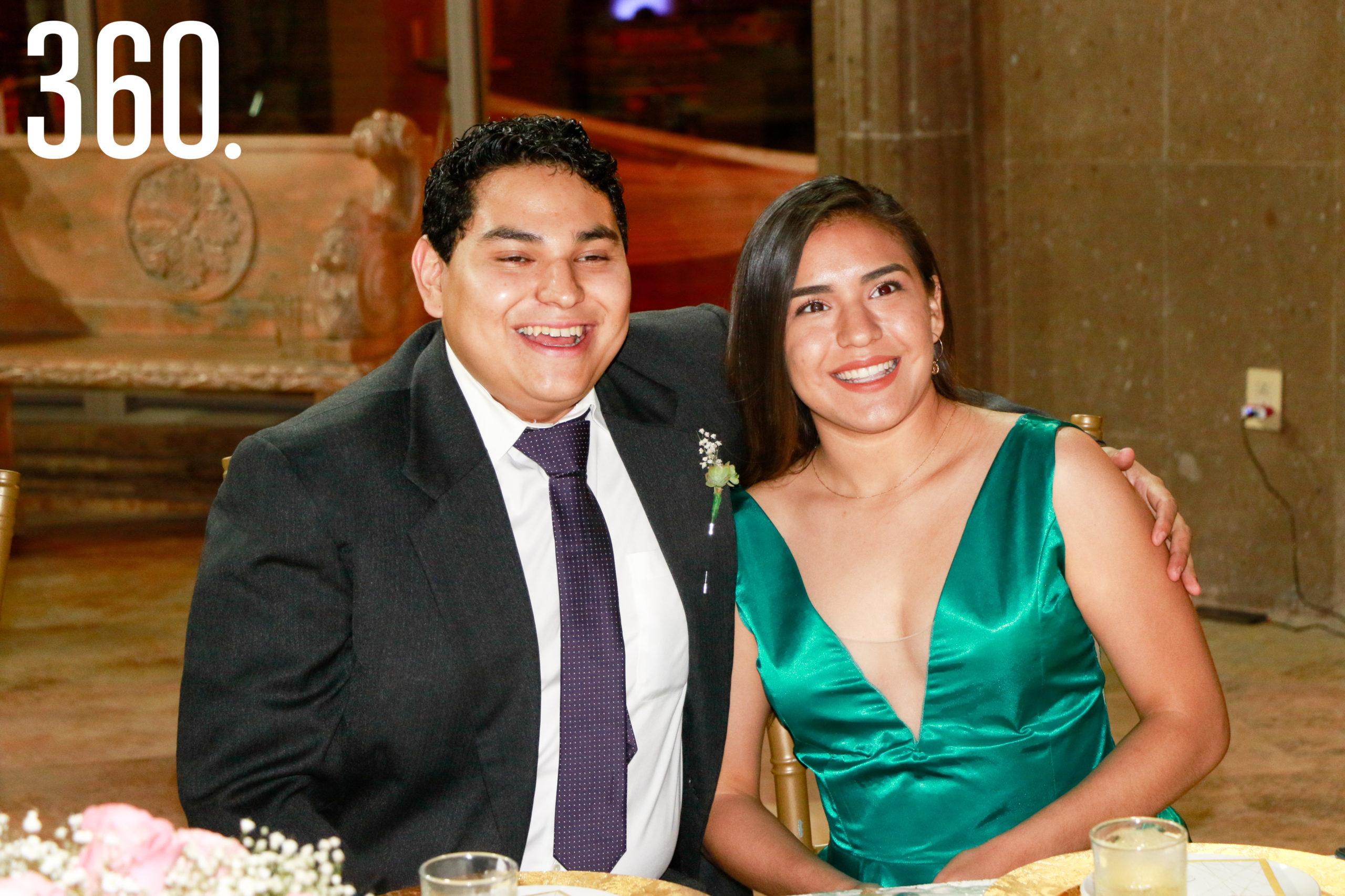 Sebastián Villareal y Griselda García.