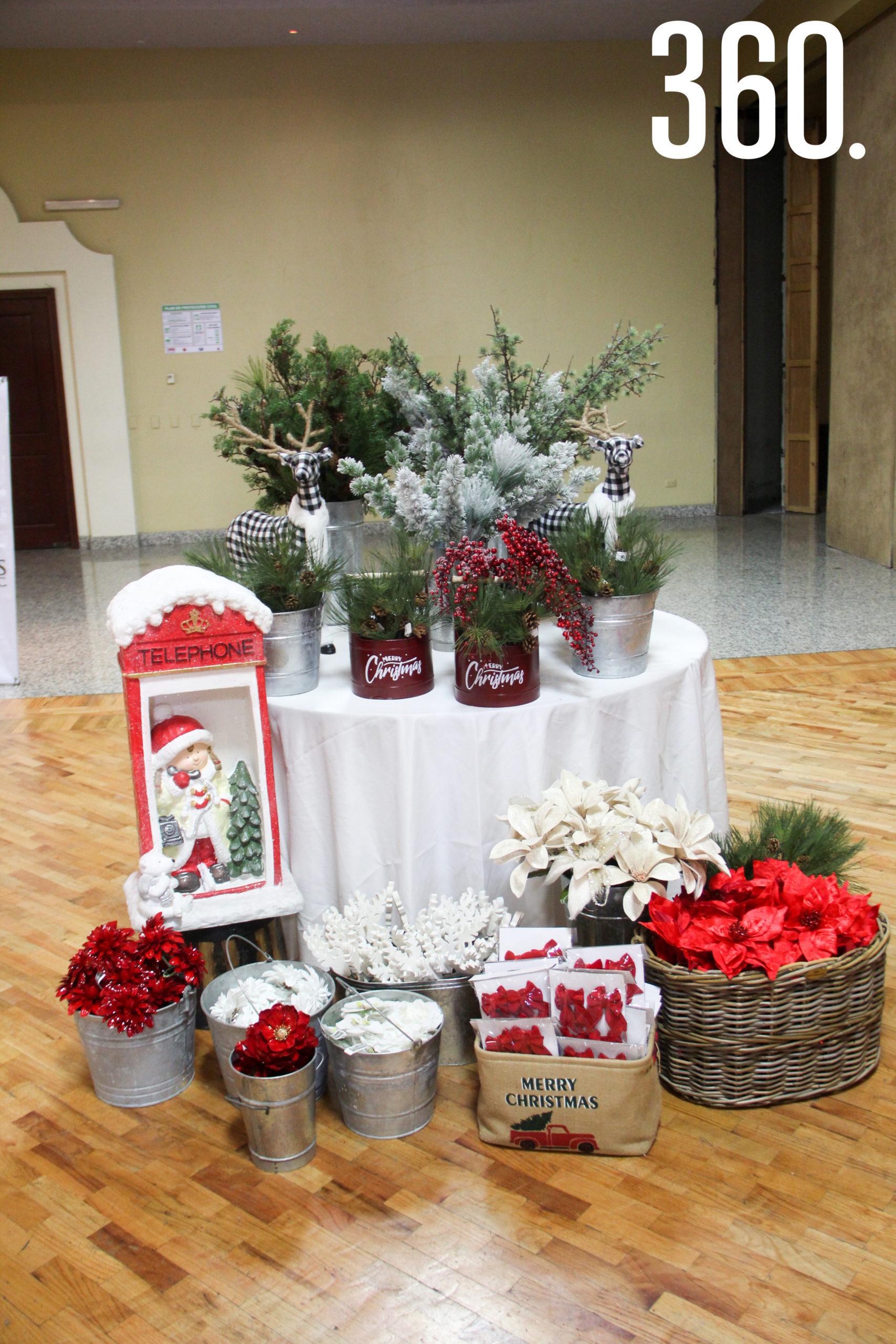 Decoración para llevar el espíritu navideño al hogar.