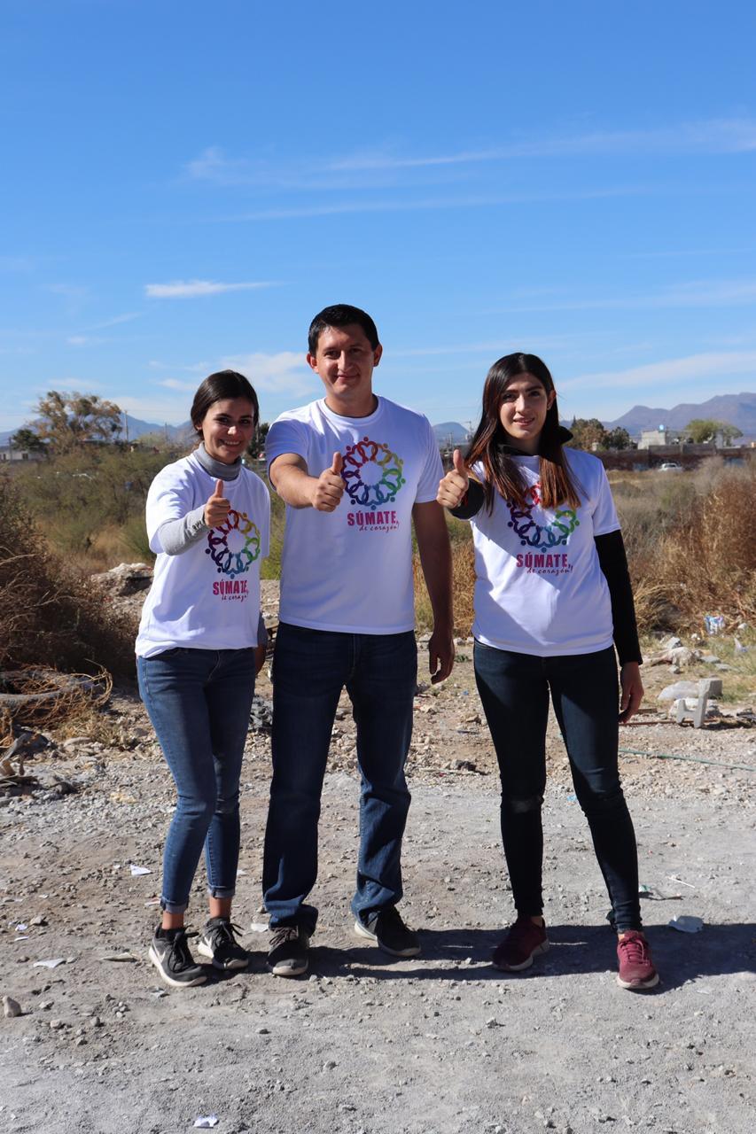 Ana Sofía Rodríguez, Omar Rivera y Tania Hinojosa.