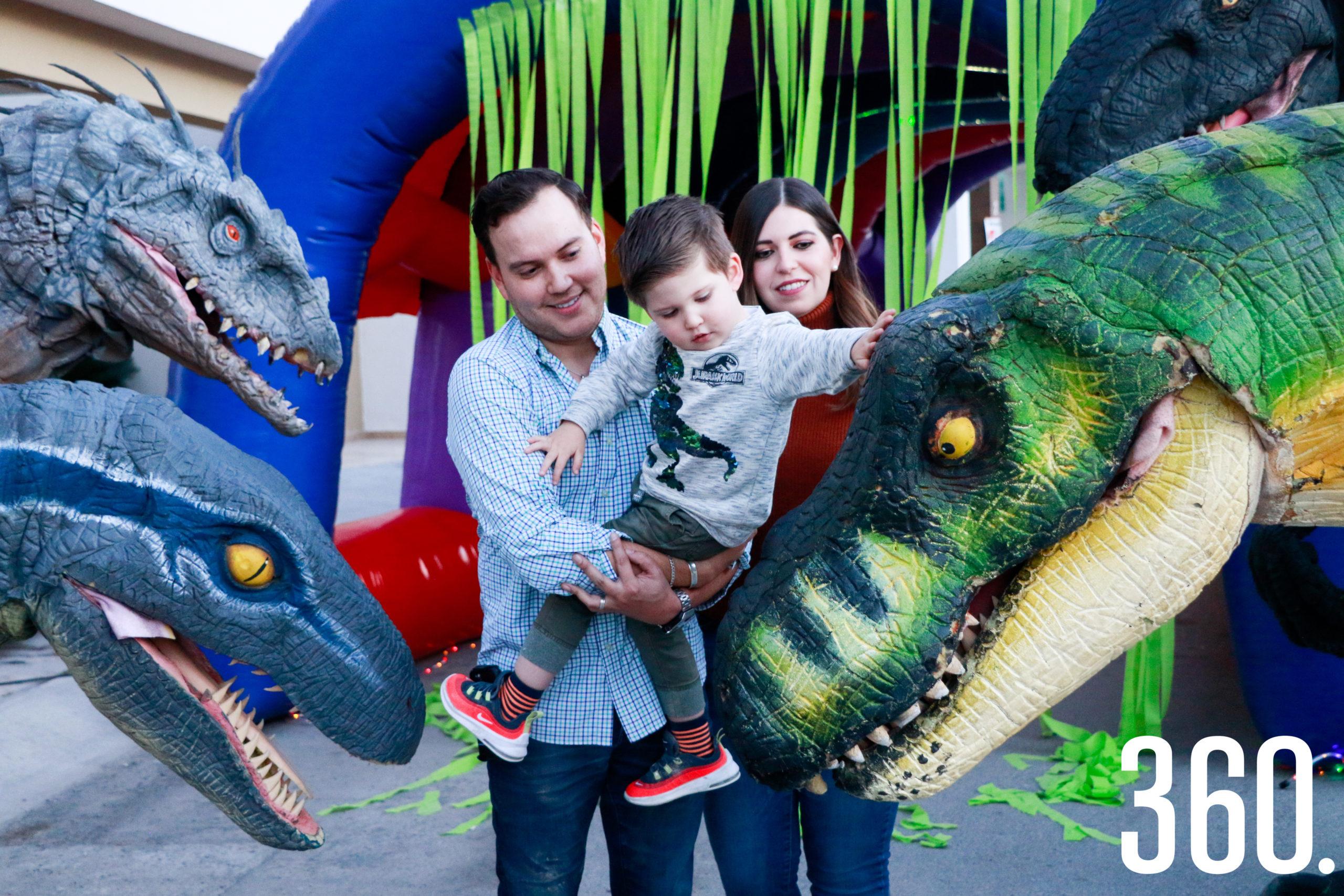 Roberto y los dinosaurios.
