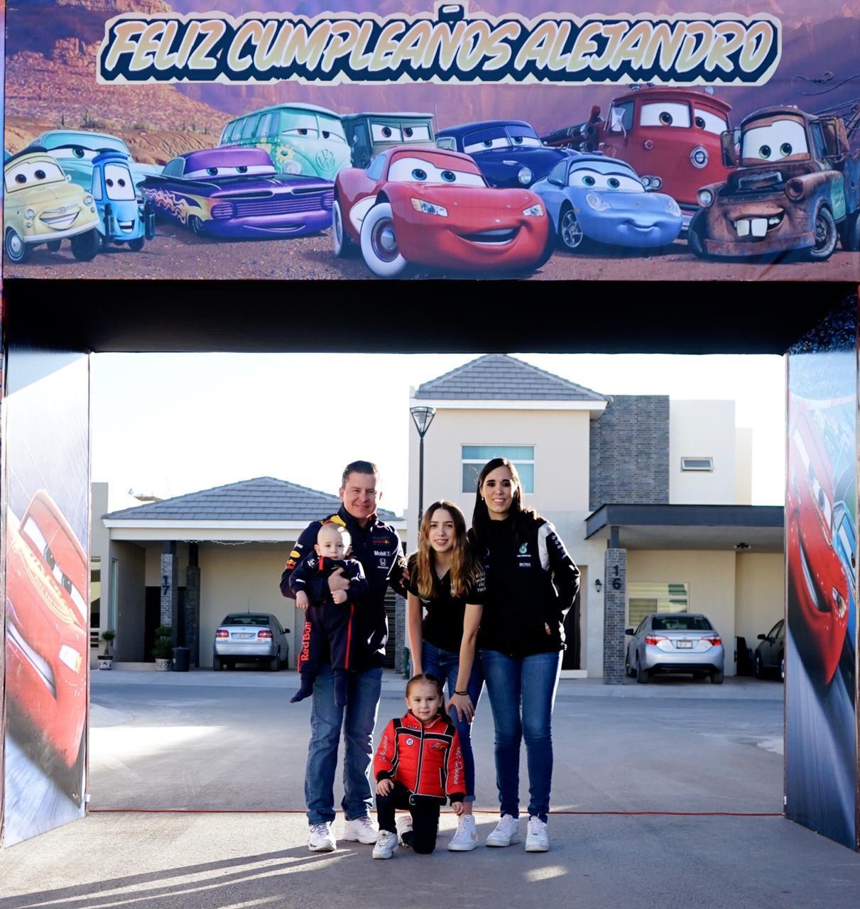 Familia Garza Treviño.