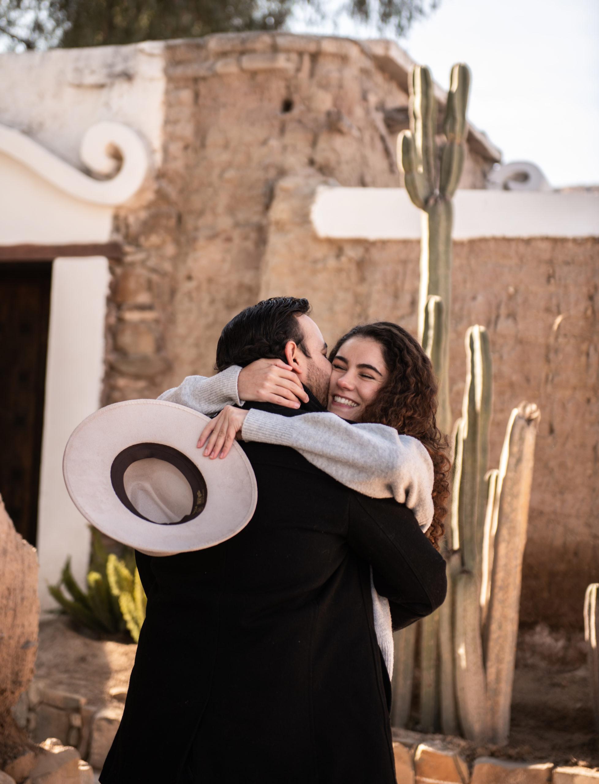 Ana Gabriela Herrera y Eduardo Dávila.