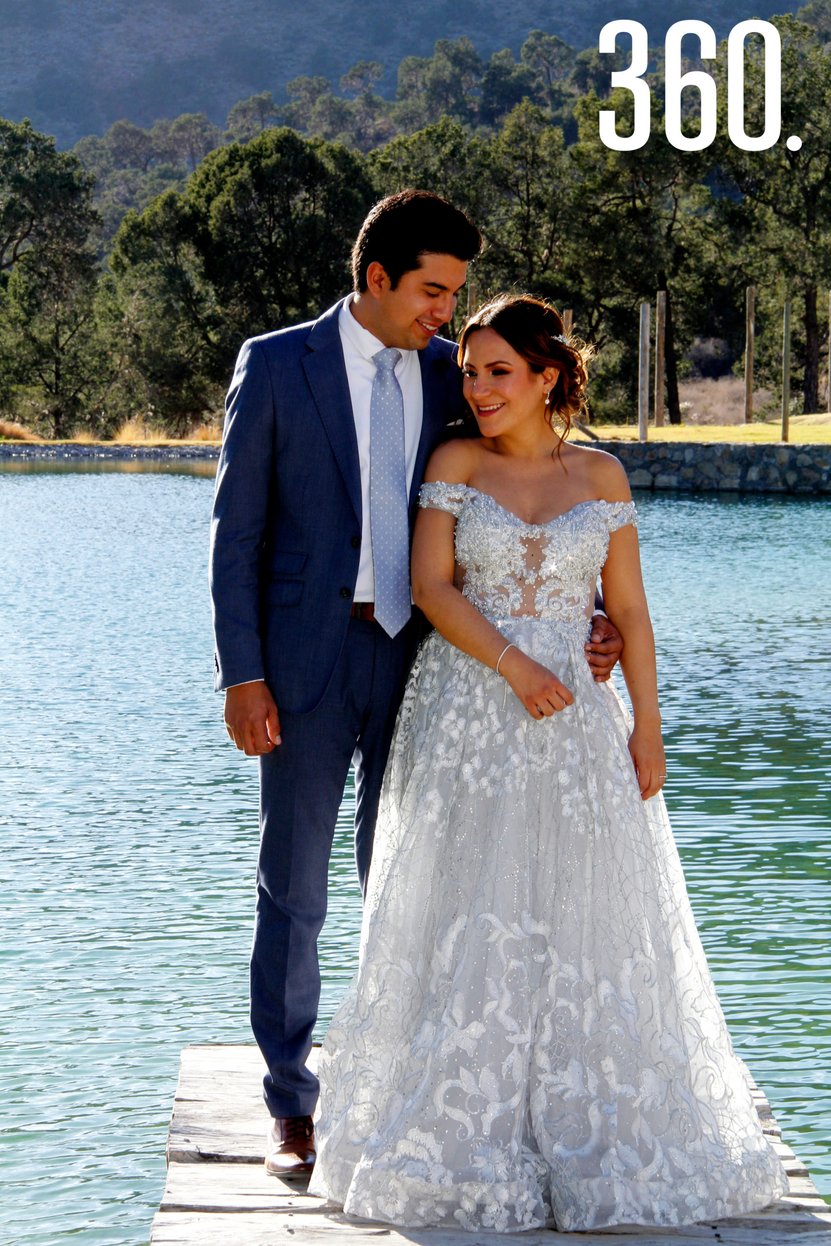 Alexis Martínez Rodríguez y Fernanda Mendizábal Delgadillo unieron sus vidas en una ceremonia civil en Terra Serena.