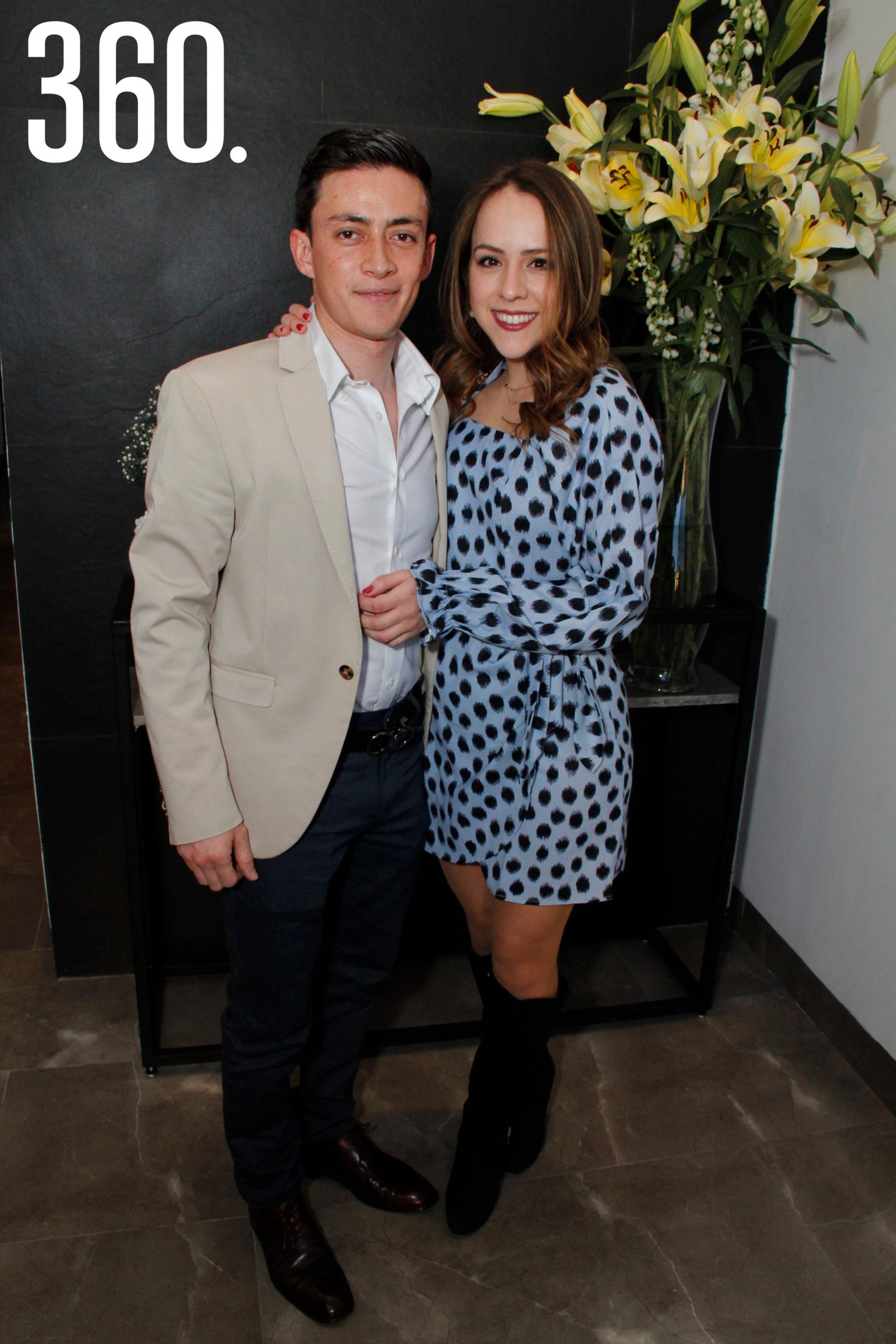 Arturo Dávalos y Sara Quiroga.