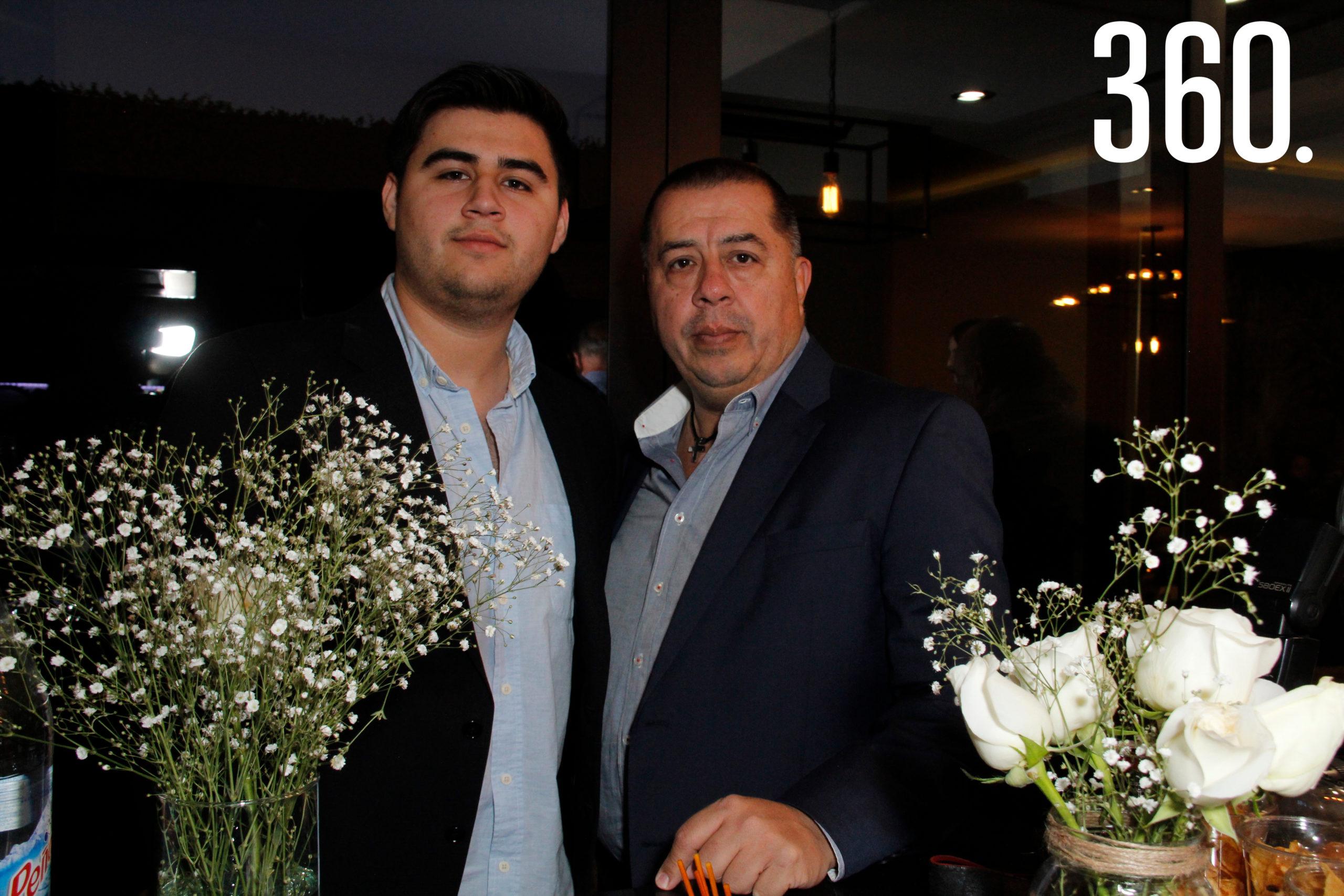 Luis Donaldo y Luis Vicente Ballinas.