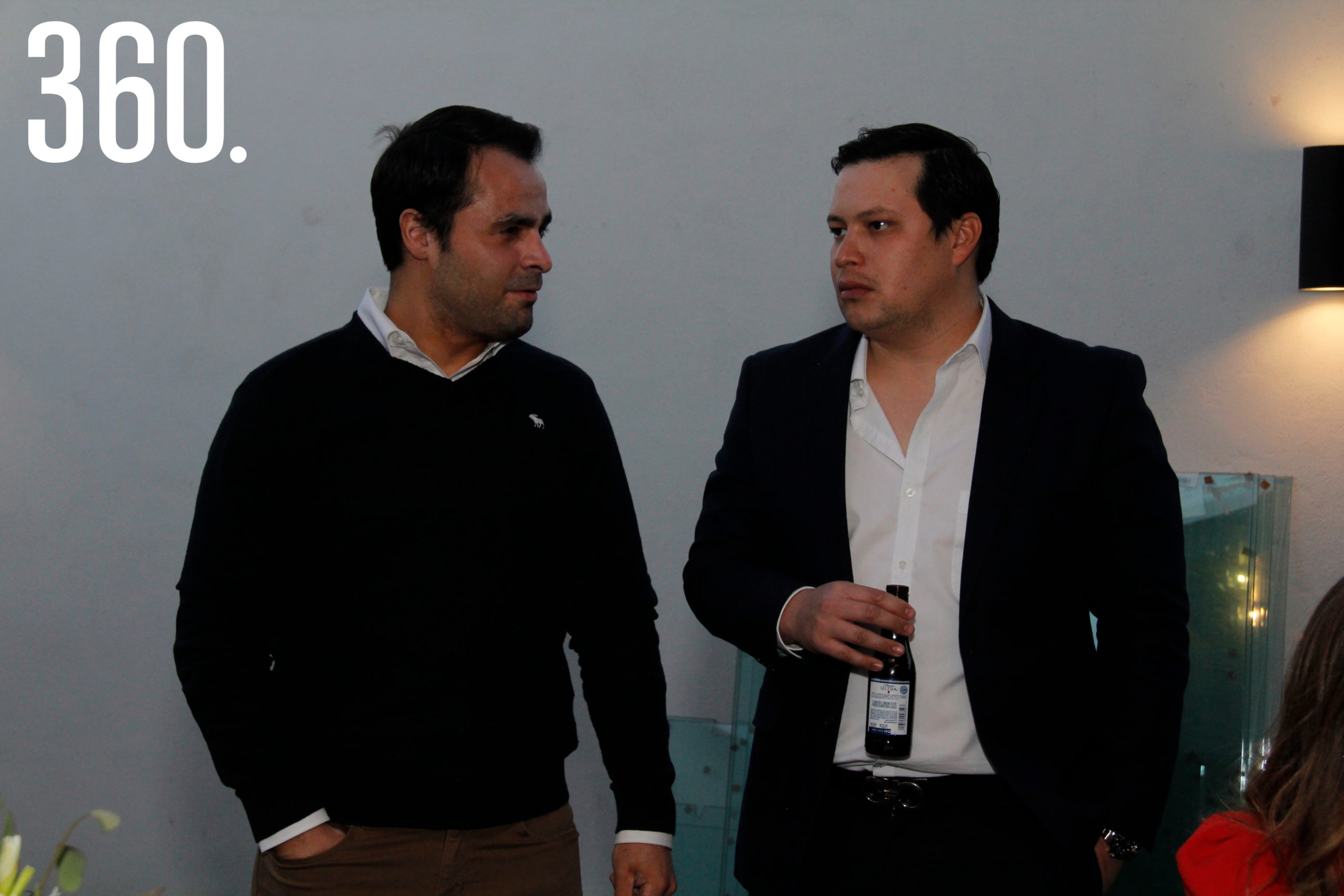 Poncho y Jorge Wah.