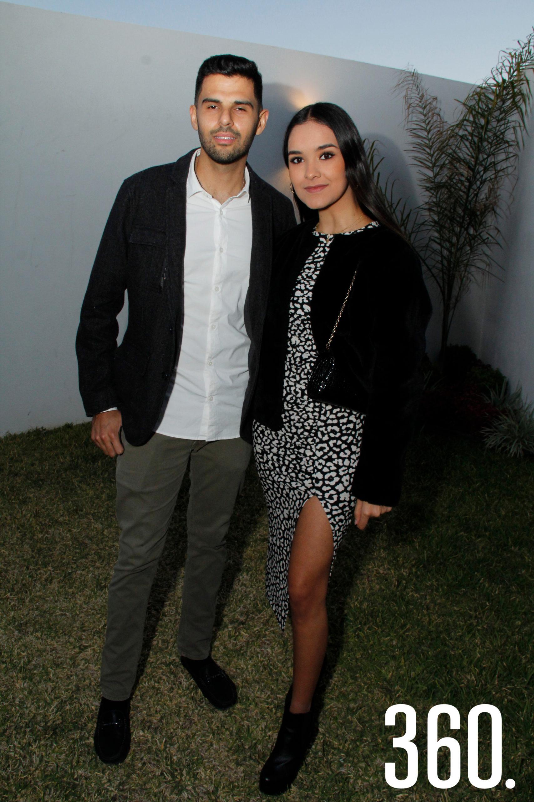Sebastián Cárdenas e Ilse Barbosa.