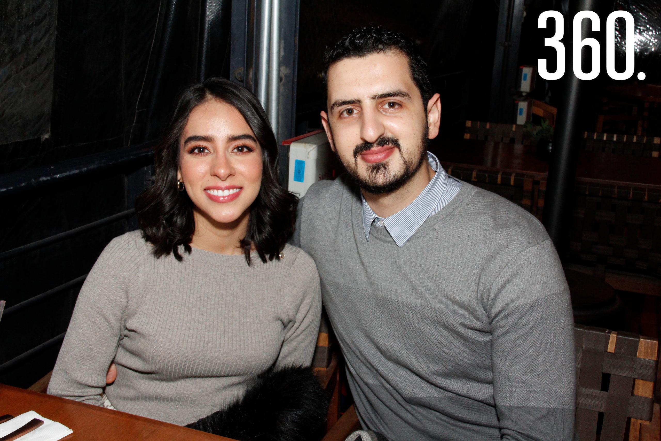 Lorena García y Edgar Méndez.