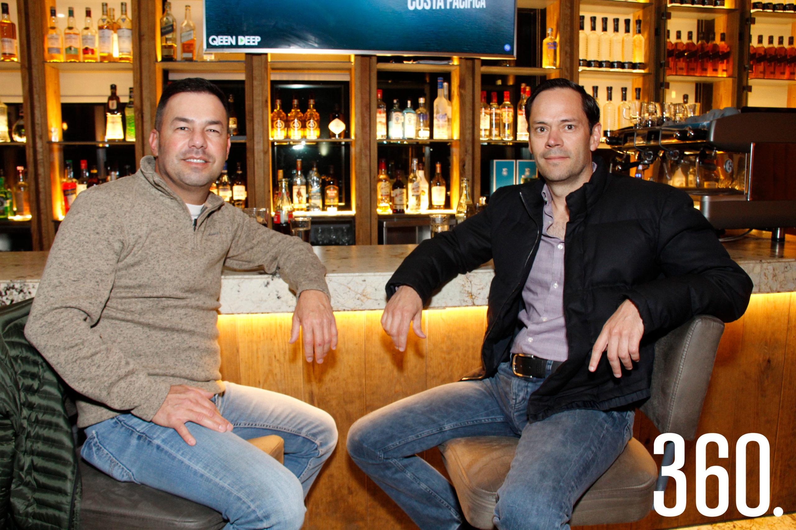 Iván Guerra y Alberto Verduzco celebraron su amistad.