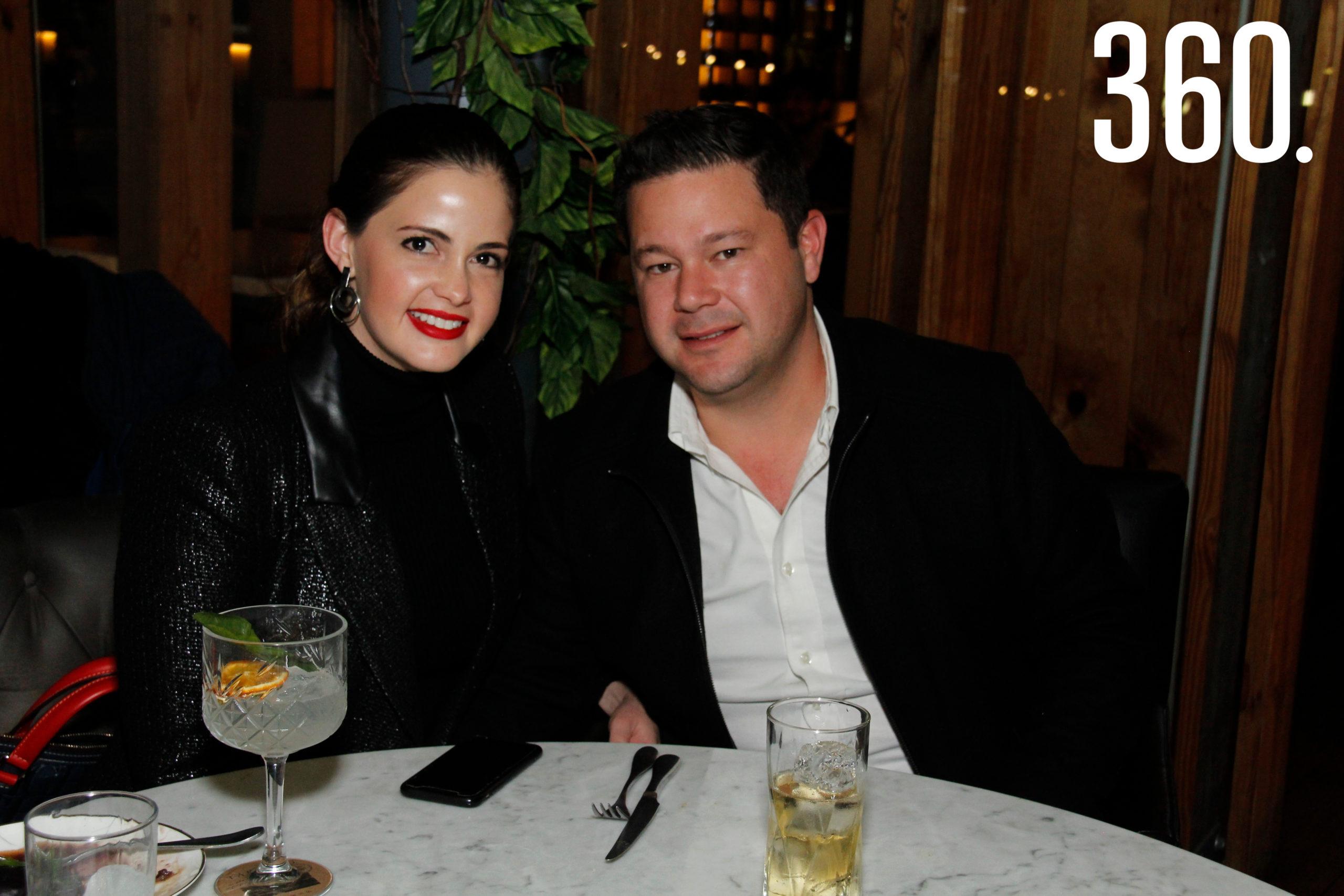 Ana Sofía y Carlos García.