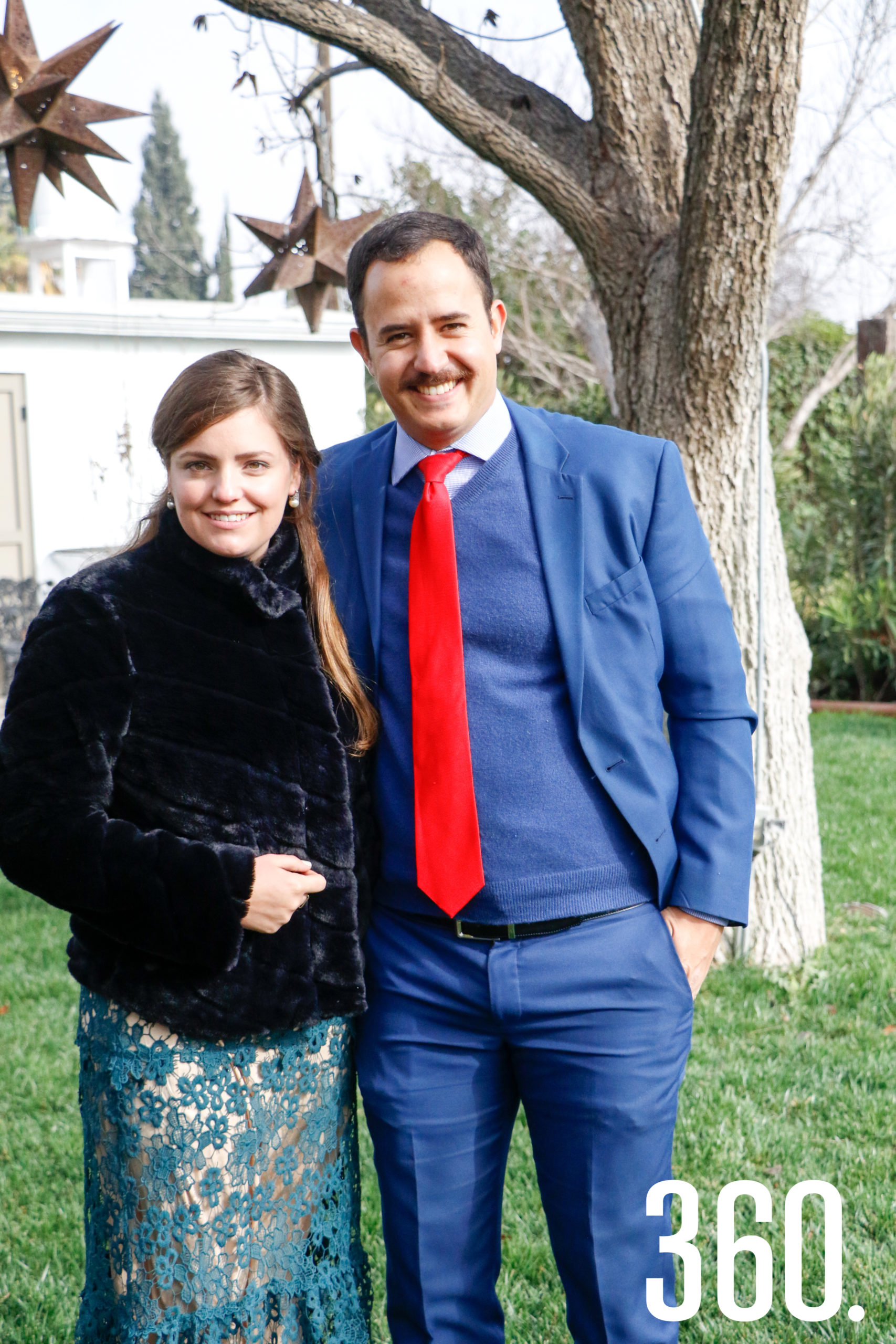 Liliana Salas y José Francisco Dávila.