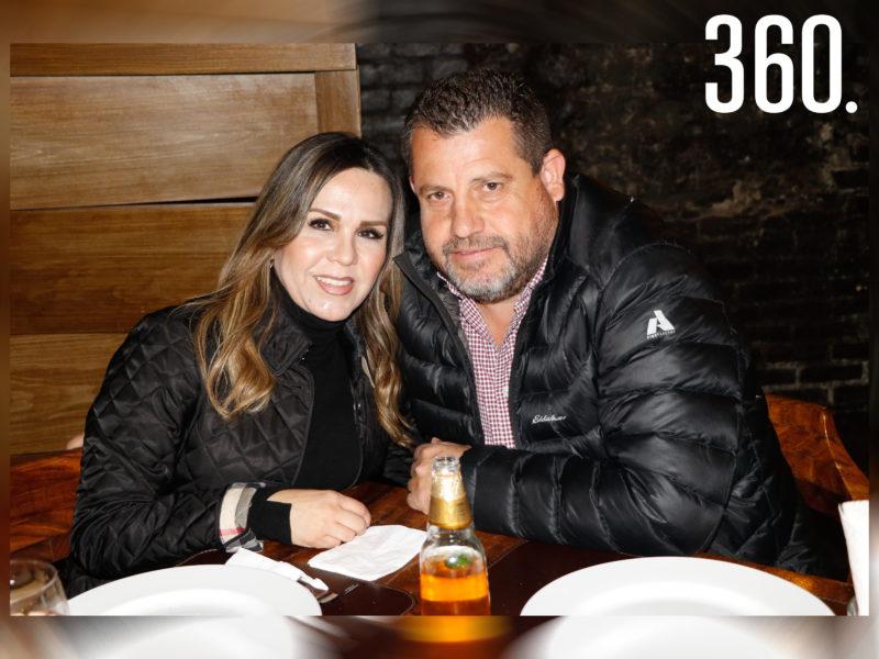 Erika Sepúlveda y Víctor Garibay