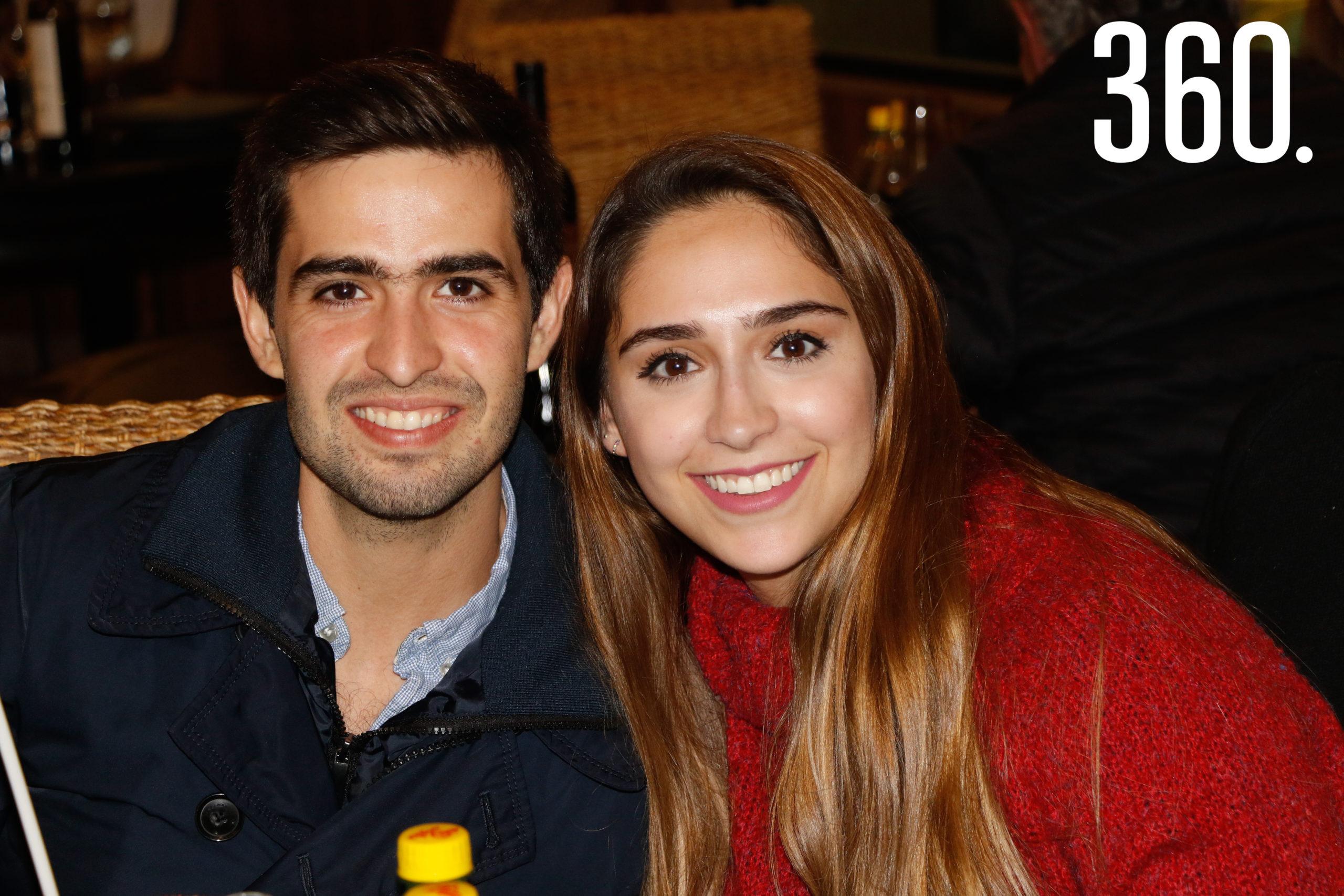 Hernán de la Peña y Fernanda Sala.