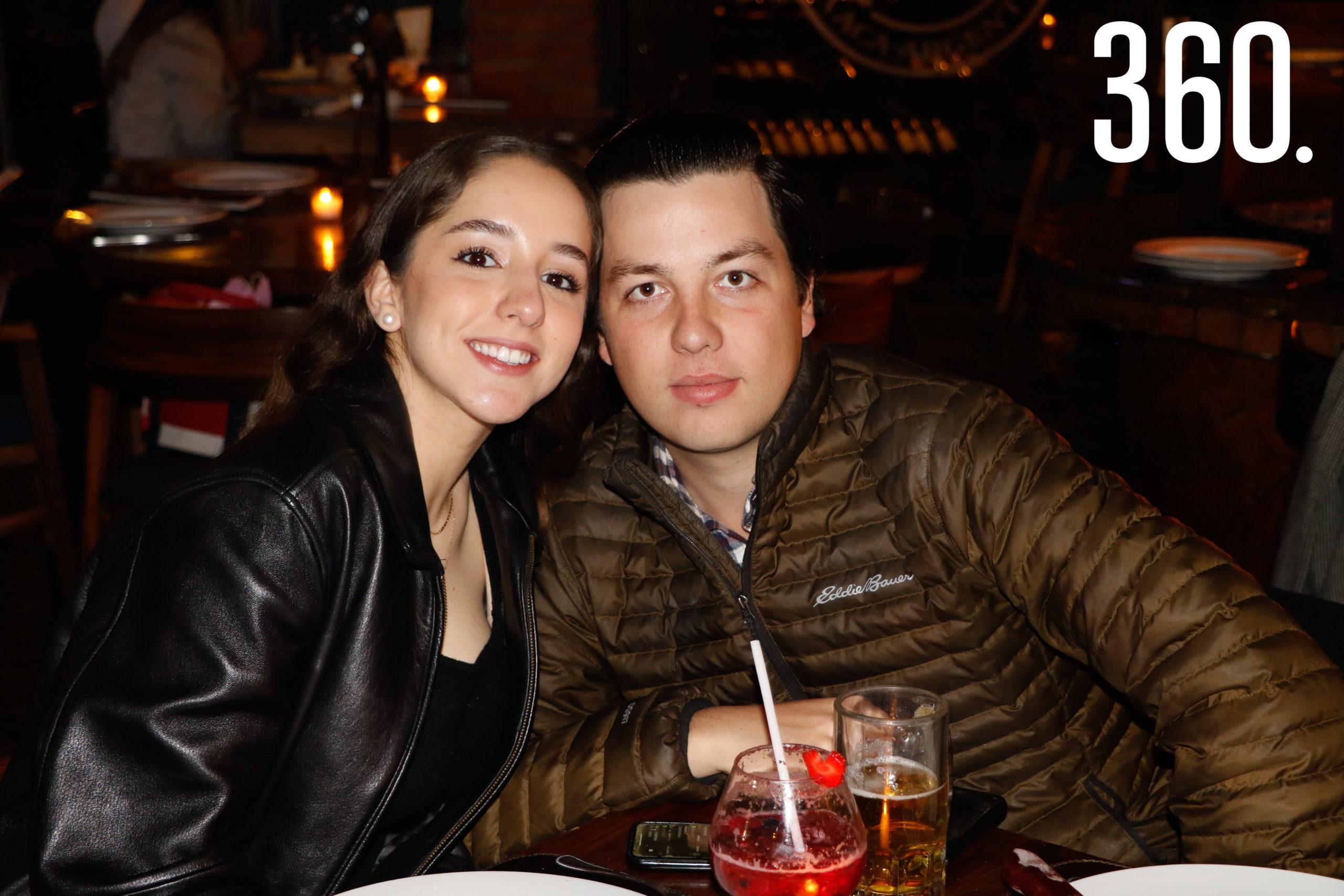 Tey Garza y Marcelo Ruiz.