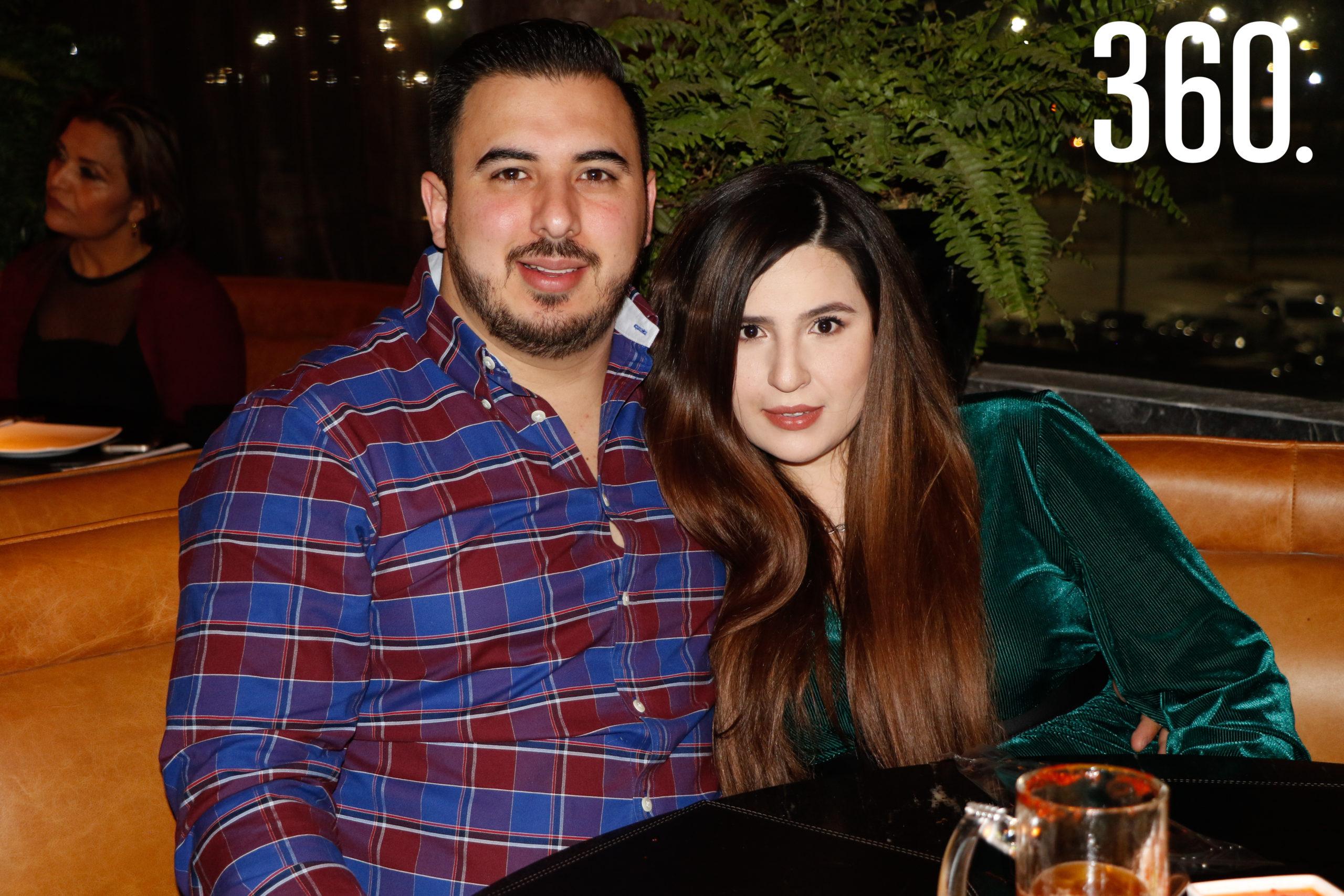 Luis Sepúlveda y Cristina Castillo.