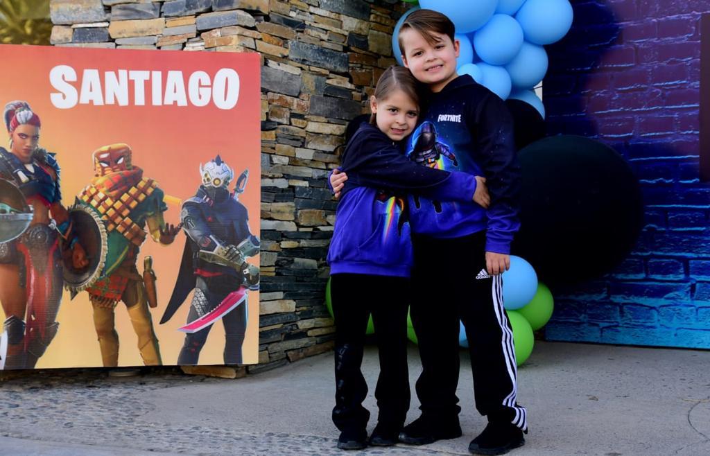 Santiago y Emiliano Prieto