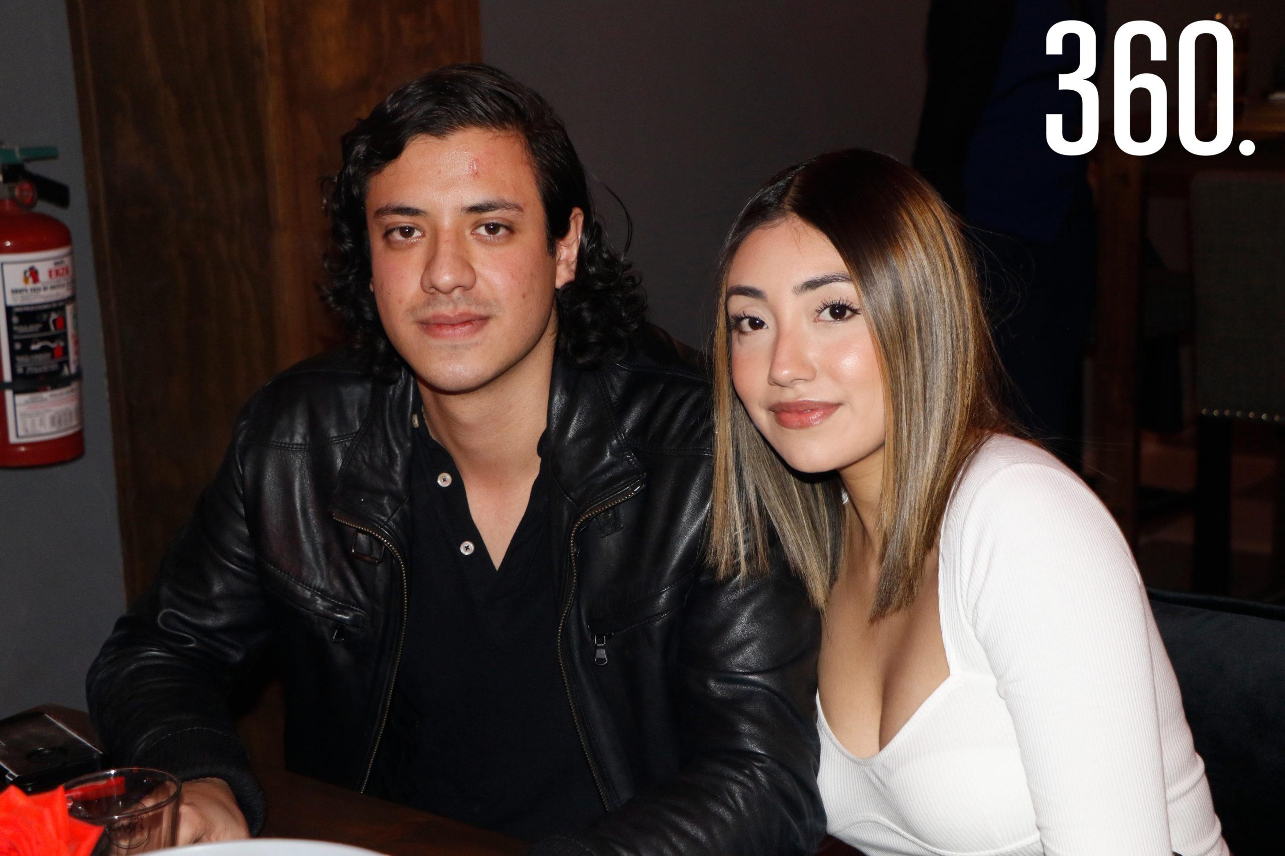 Valentino Bertello y Samanta García.