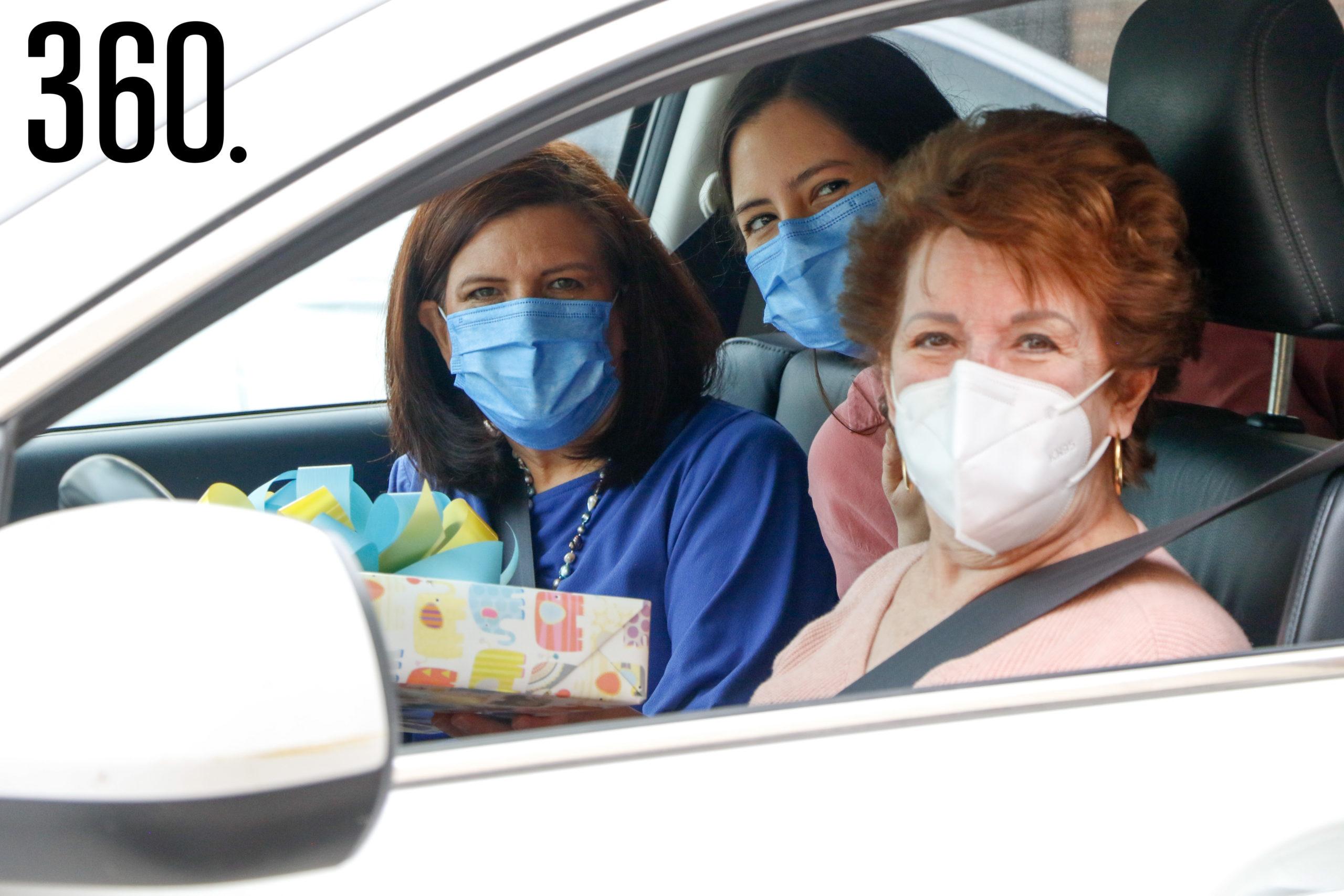 Claudia del Bosque, Claudia Gutiérrez y María Elena Dávila.