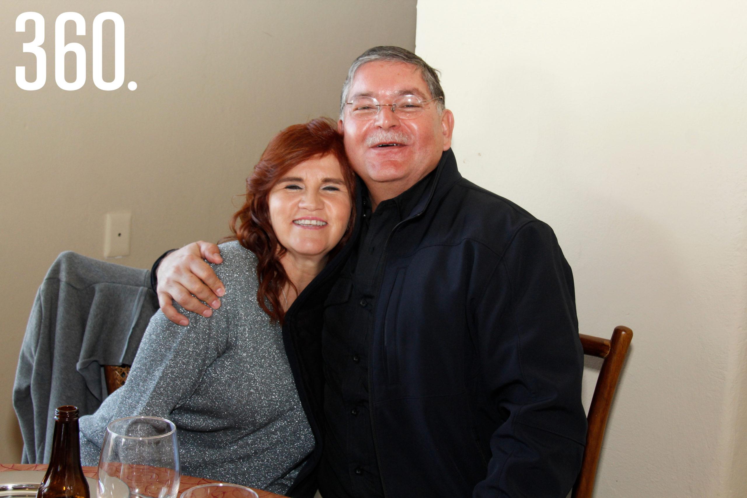 Janeth Mireles y Alejandro Villarreal.