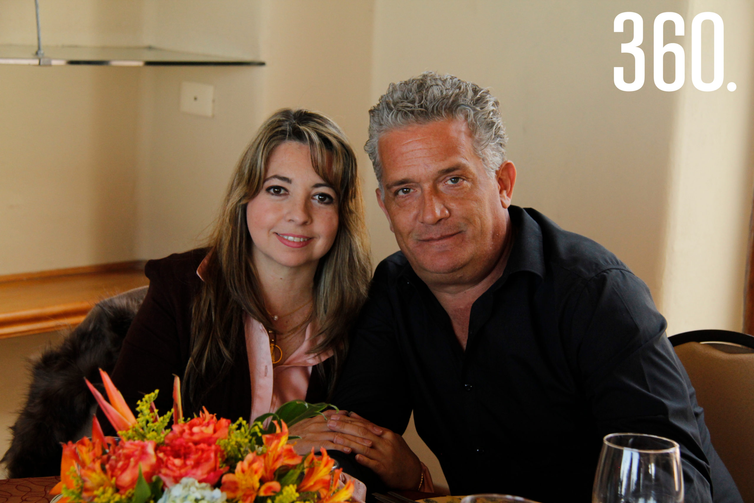 Lily Martínez y Humberto Castilla.