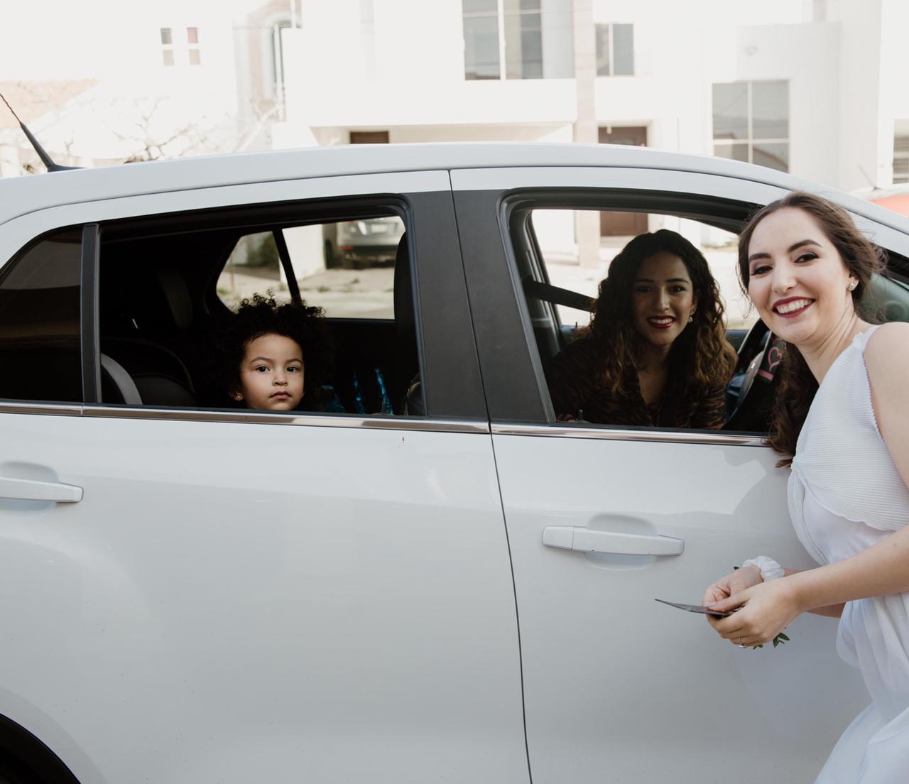 Blanca García, Camila García y Carolina Villela