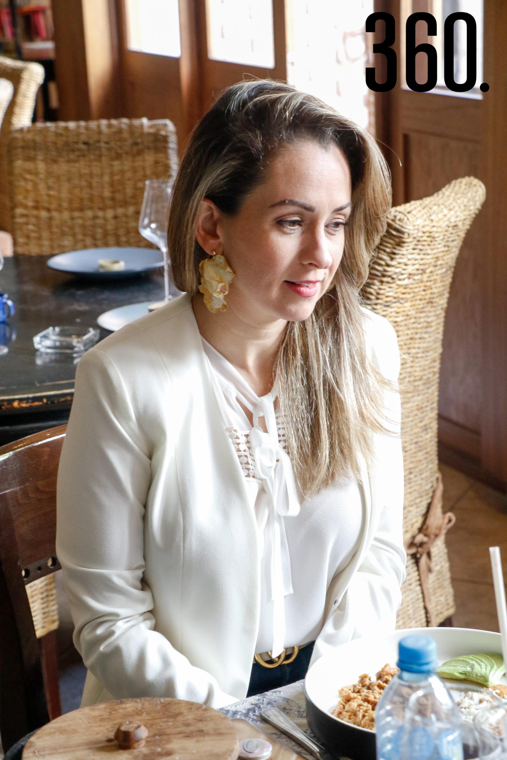 Luly López.