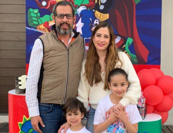 Rogelio Guajardo, Tammy Elizondo, Rogelio Guajardo y Tammy Guajardo