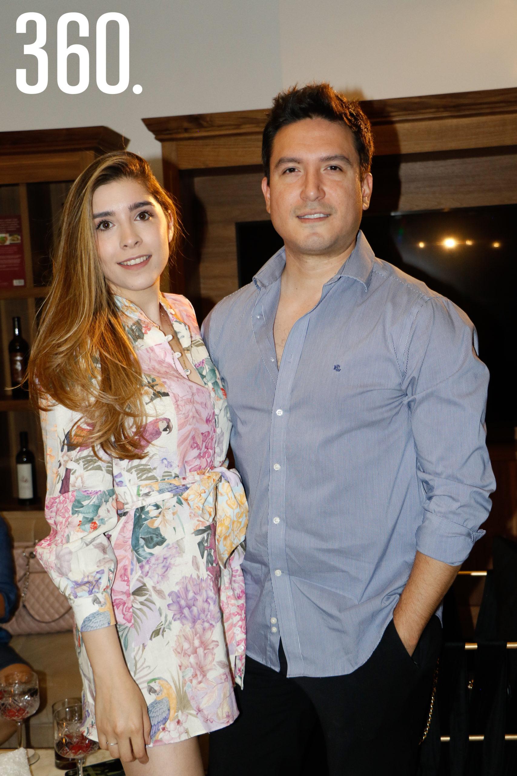 Ana Tamez y René Carreño.