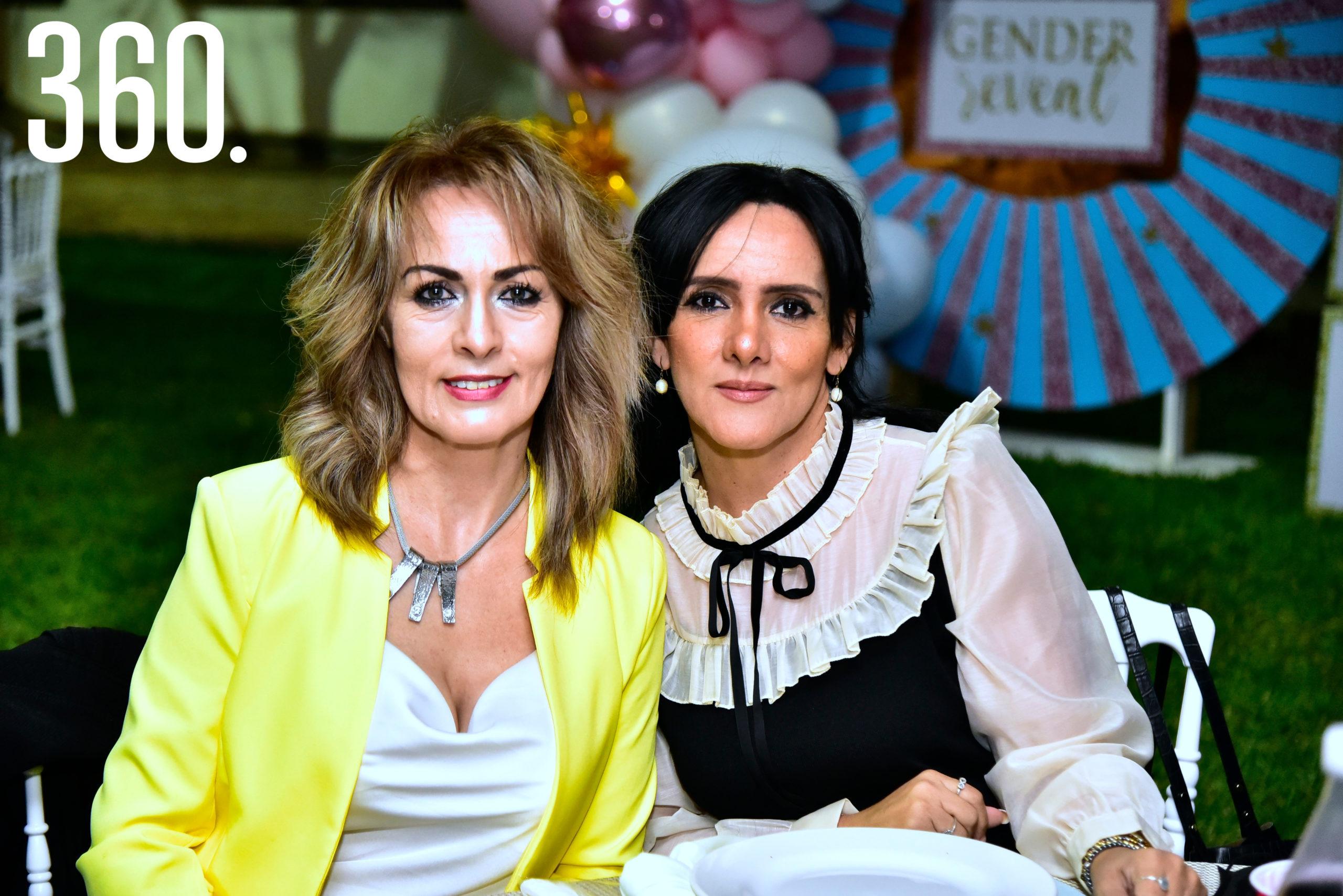 Norma Rodríguez y Gabriela Rodríguez.
