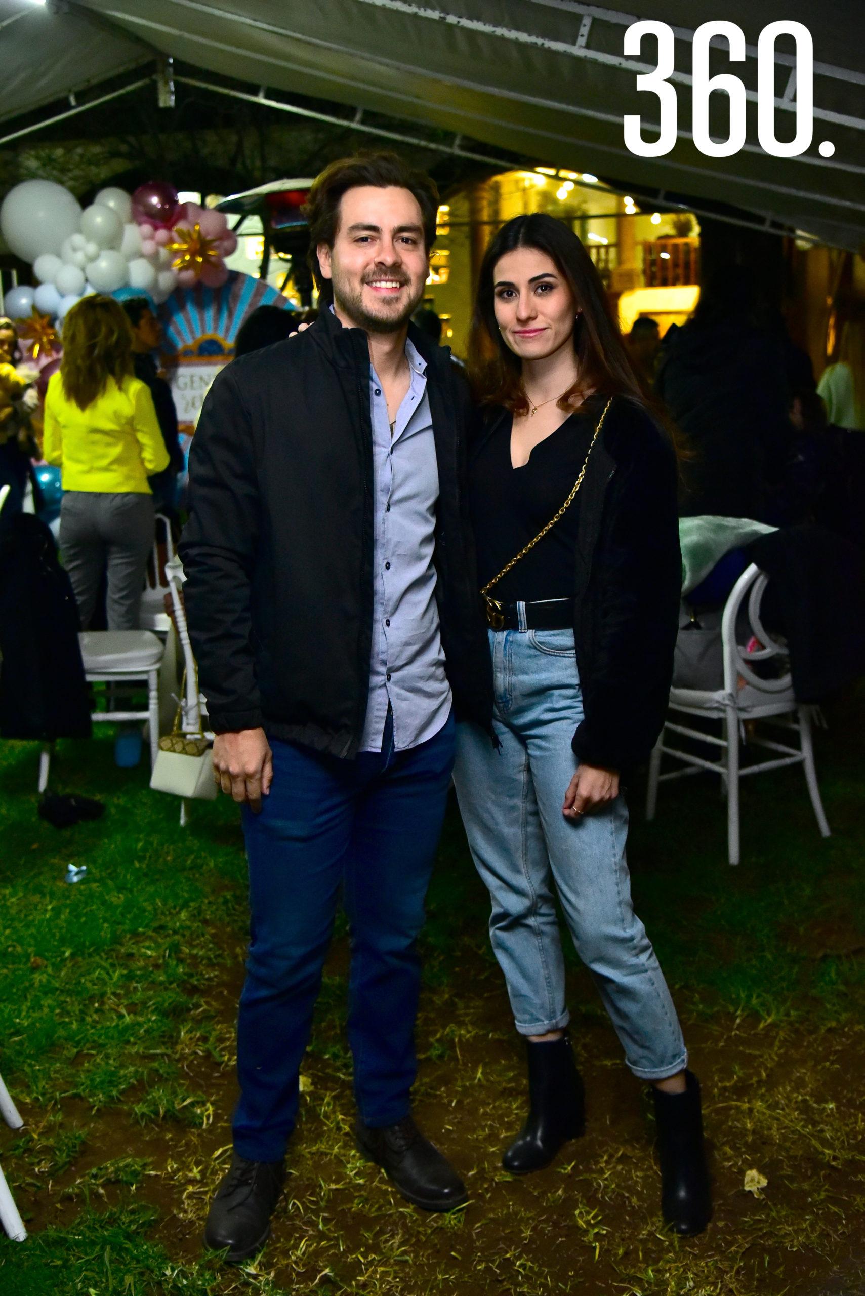 Mauricio Galindo y Paola Coronado.