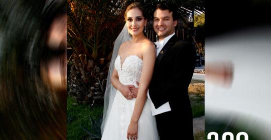 Andrea Hernández de la Mora y Álvaro Arzamendi Álvarez consagraron su amor ante Dios con el sacarmento del matrimonio.