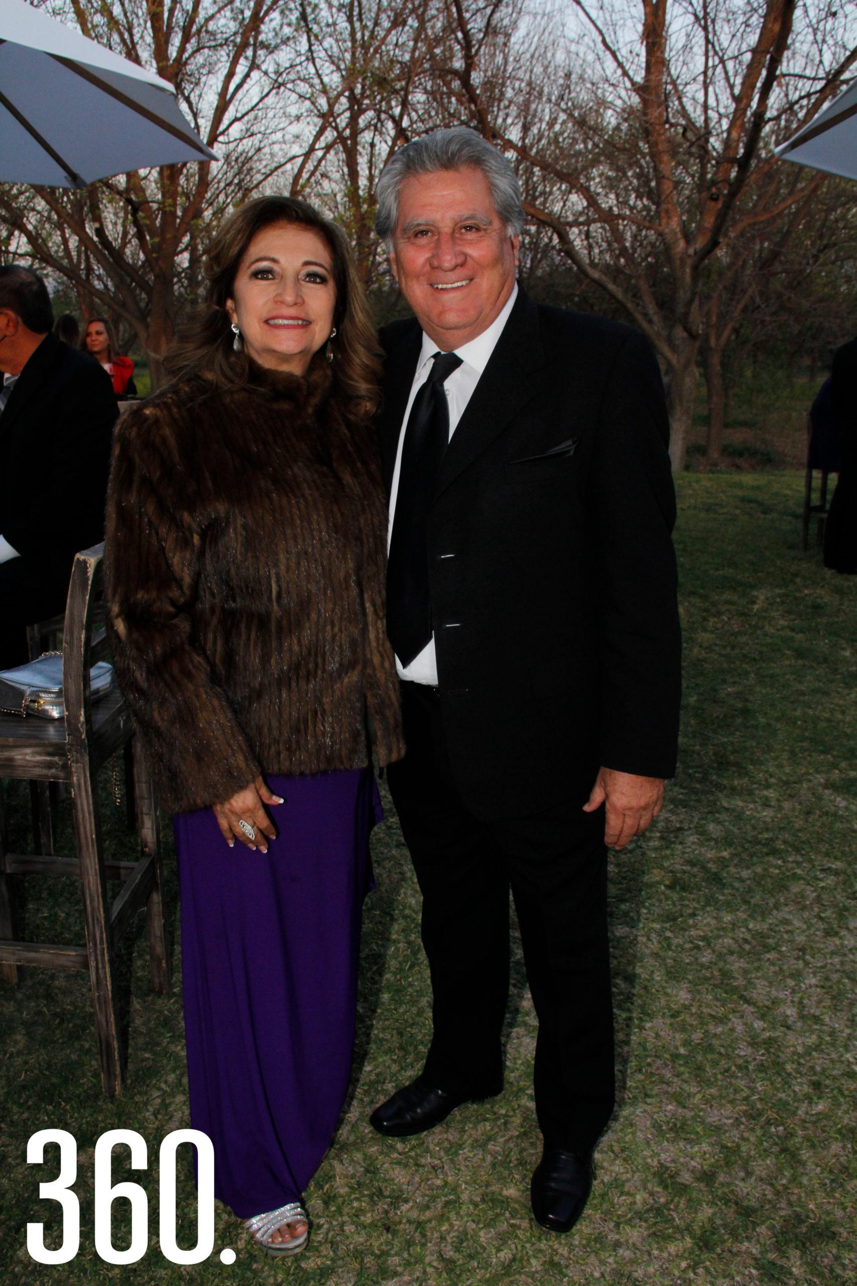 Patricia y Armando Rivera.