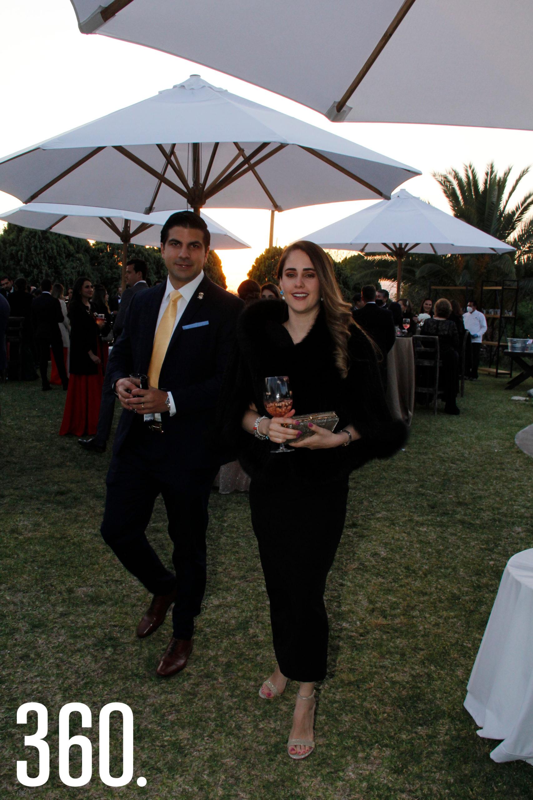 Luis Horacio Salinas y Cristina Elizondo.