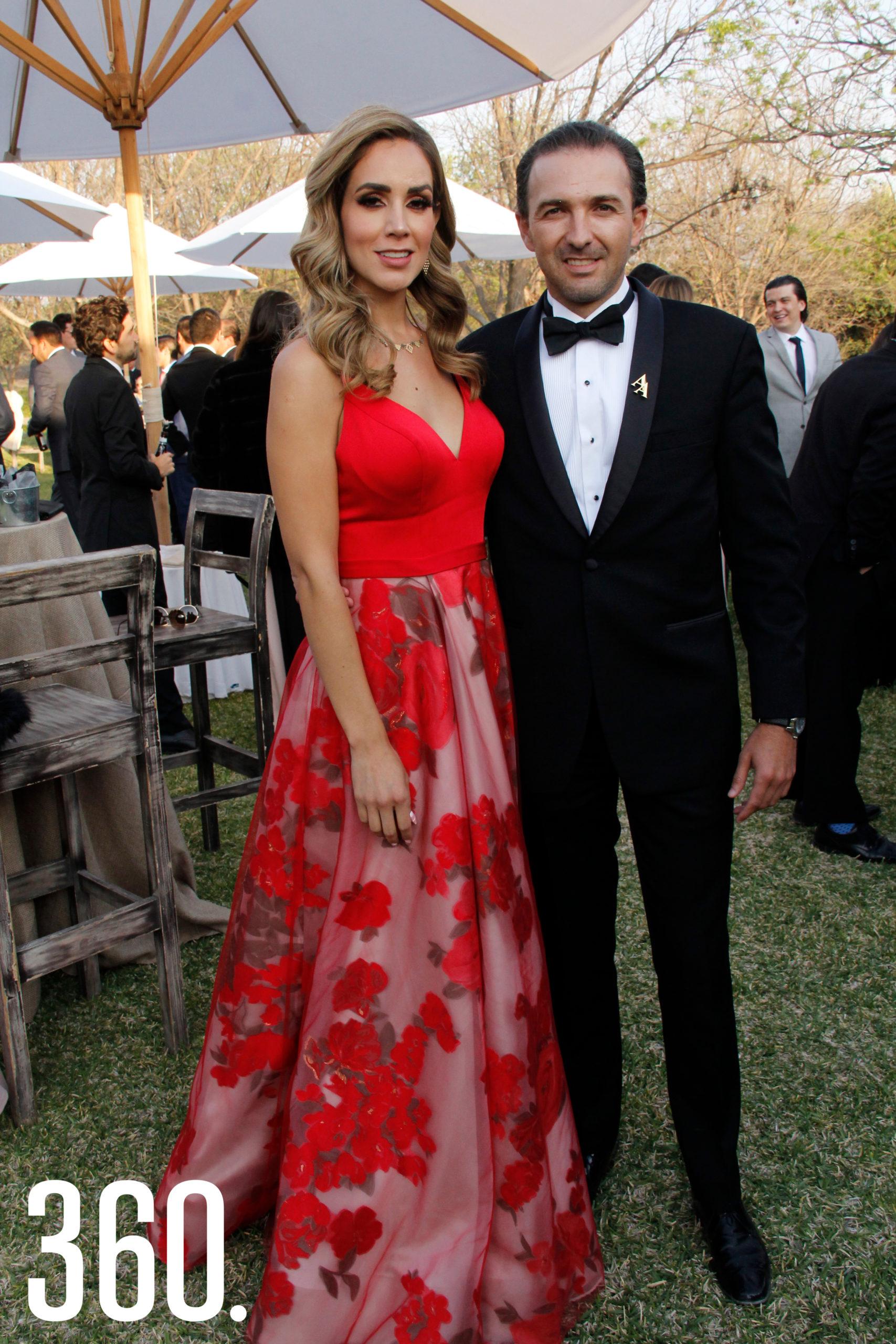 Lily González y Carlos Arzamendi.