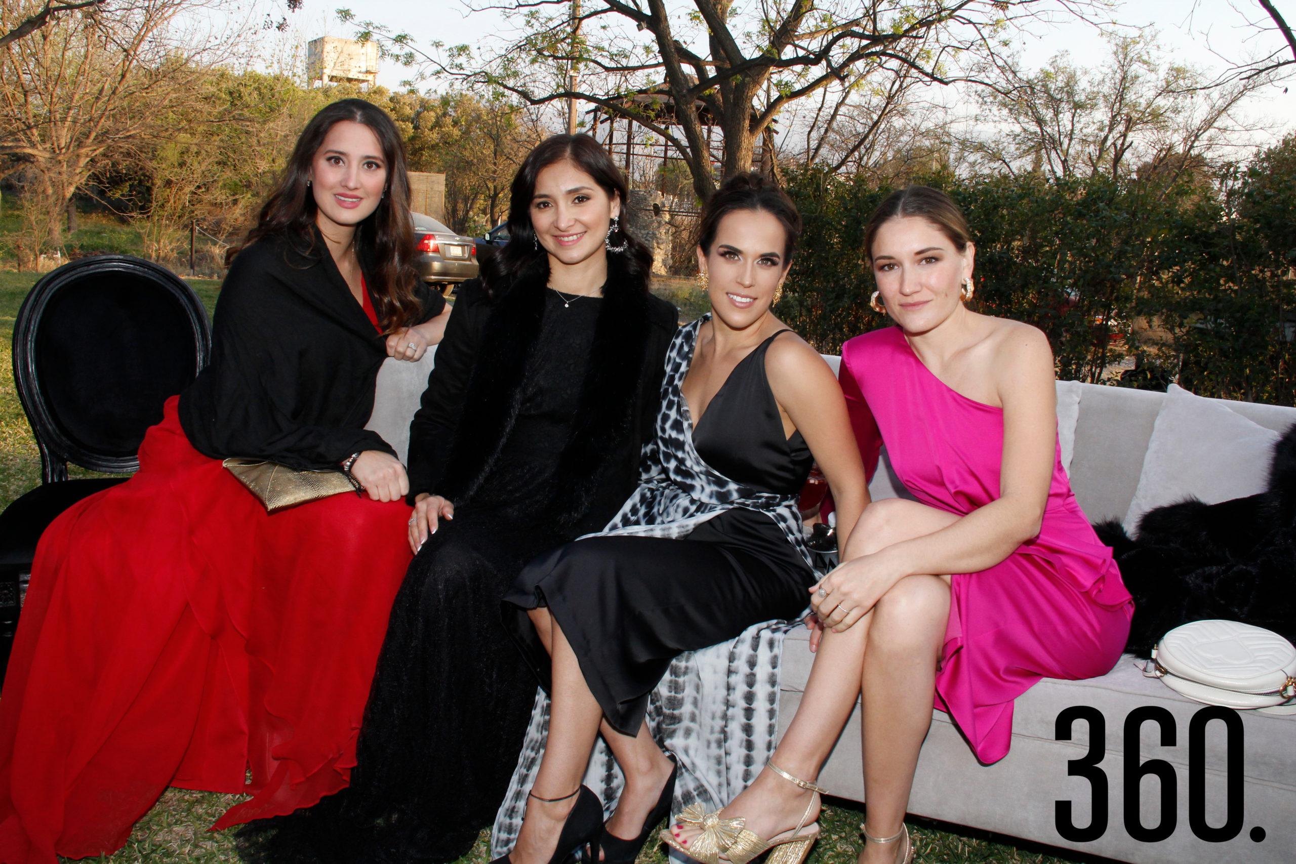 Gaby Lozano, Fátima Zamora, Martis López y Beatriz de la Garza.