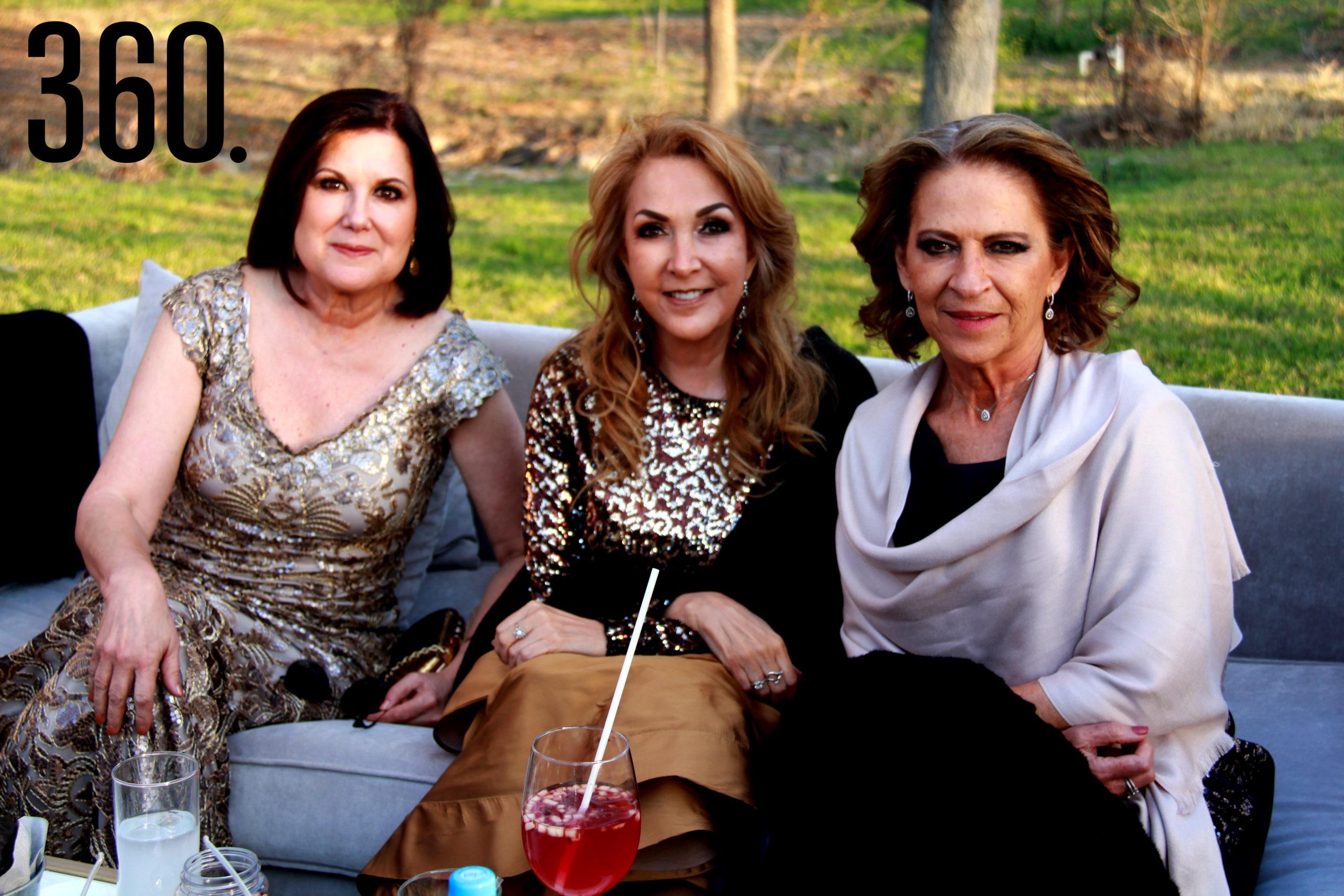 Sara Navarro, Karla Aburto y Ana María López.
