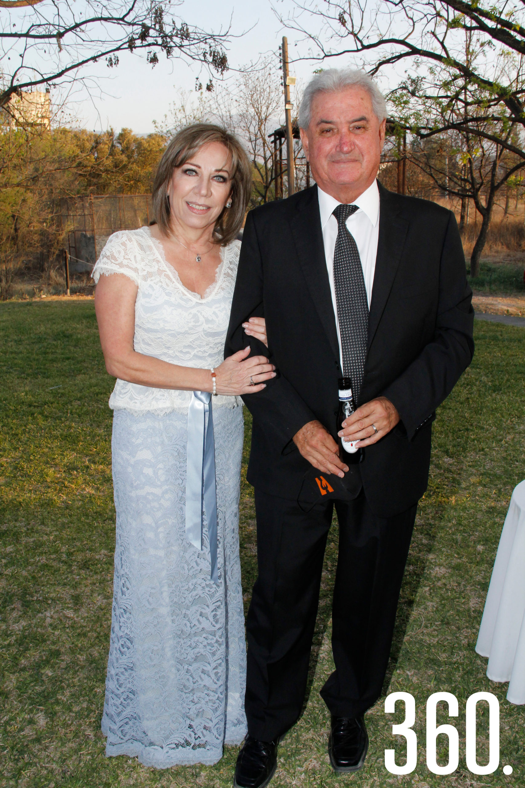 Cecilia Padilla y Luis González.