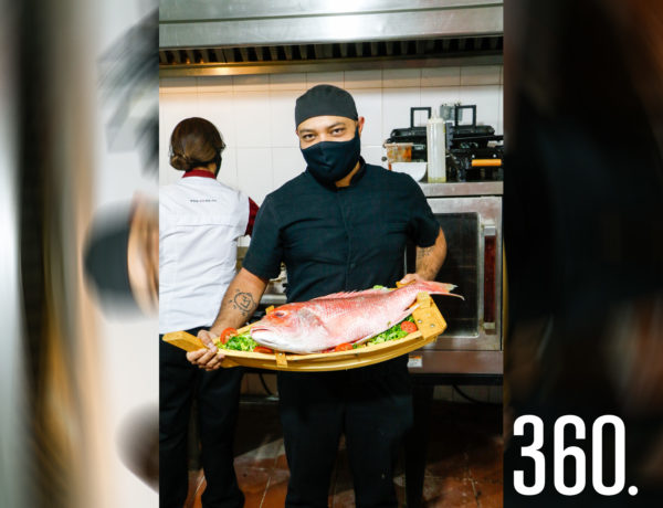 Chef Gil Rivera Rocha