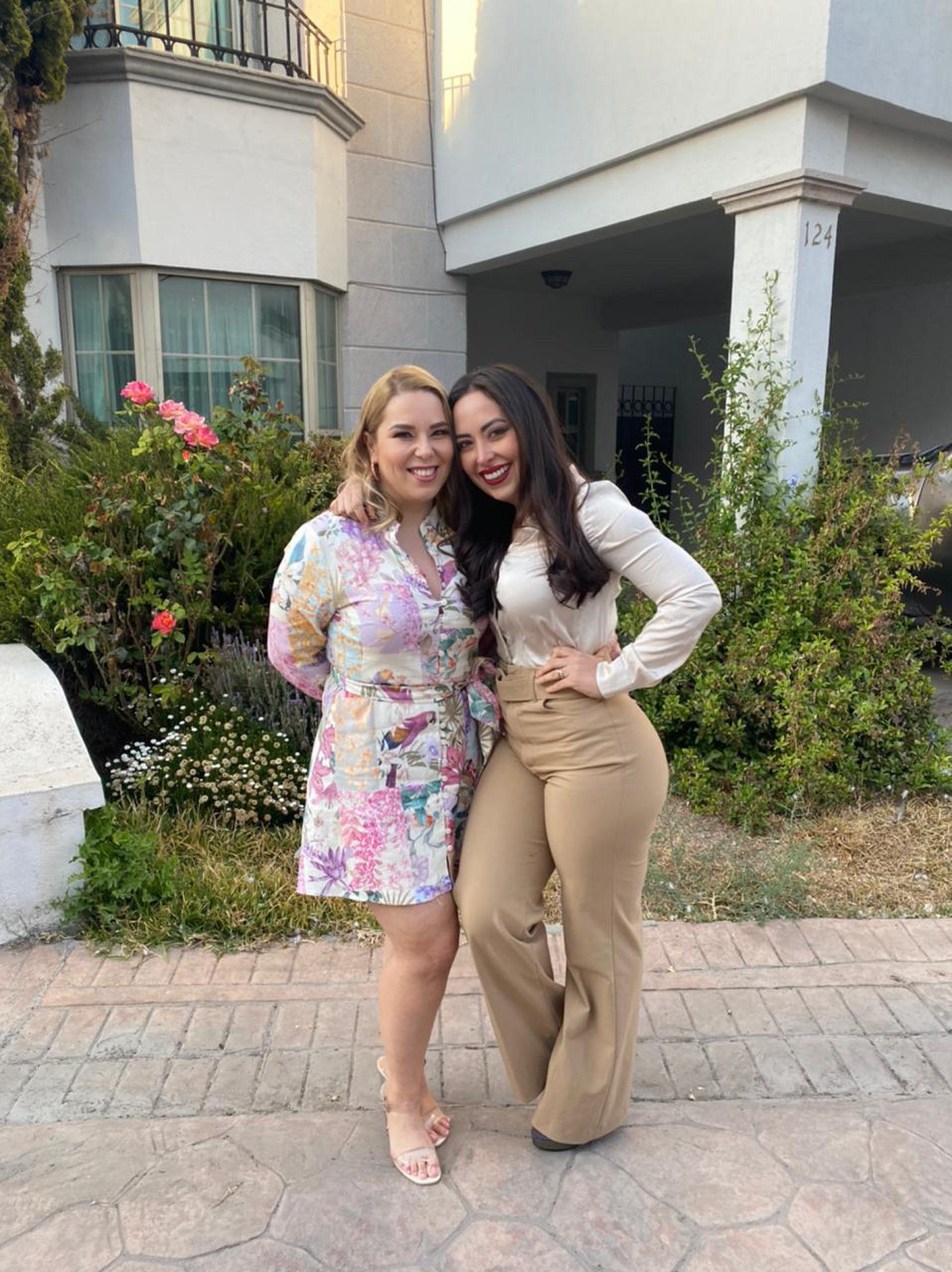 Lucy González y Yesica Torres.