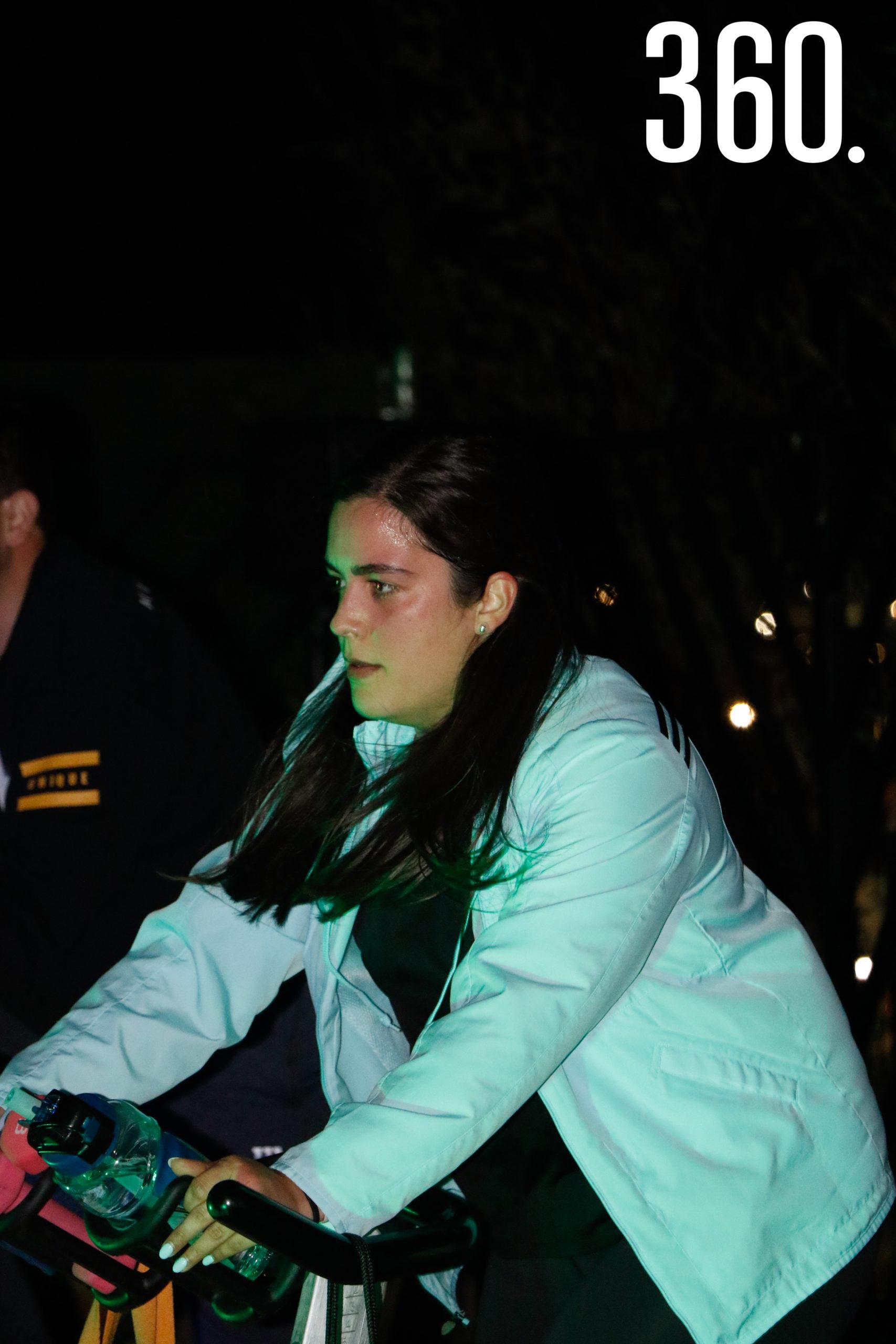 María Garza.