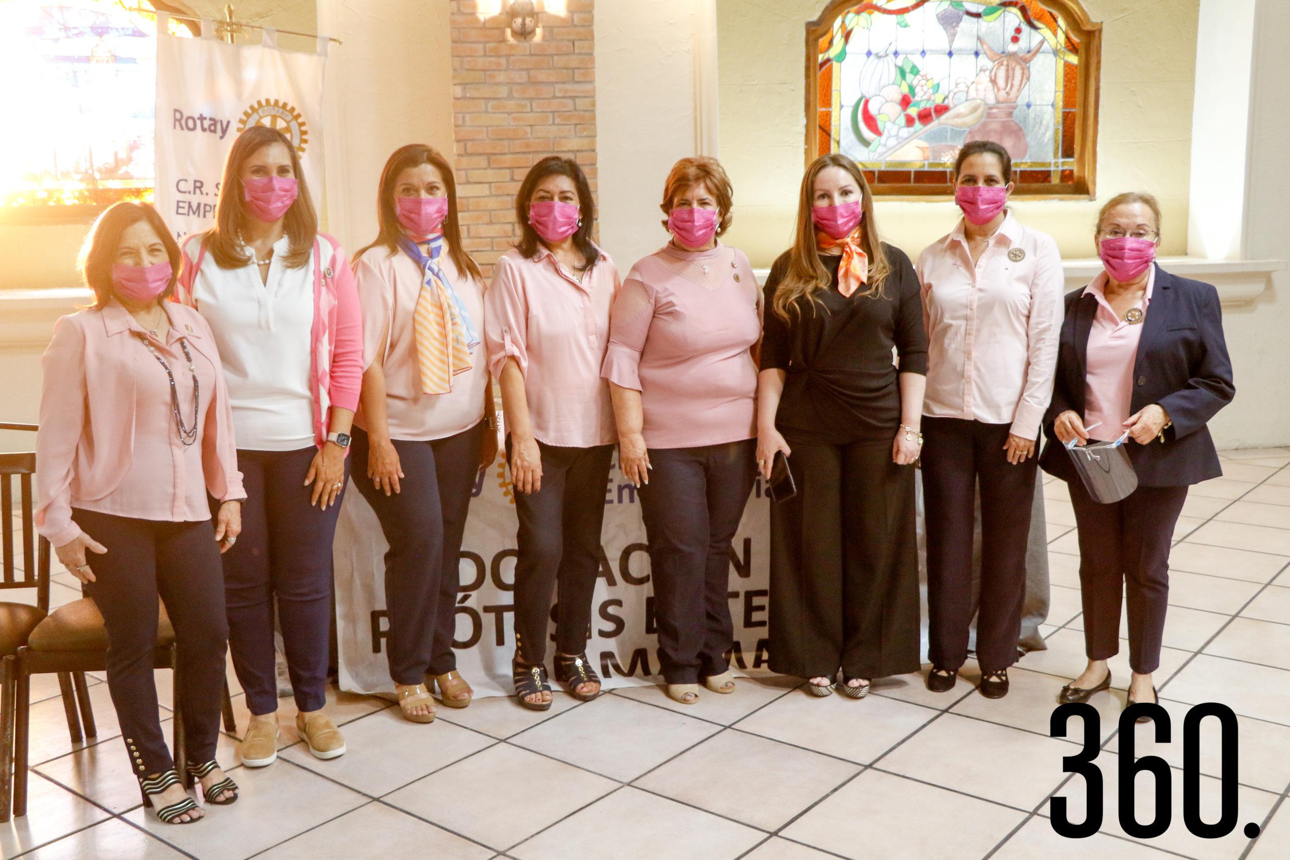 Rosa Hilda Cárdenas, Cynthia Ordaz, Paty Moreno, Lupita Hernández, Sandra Luz Gutiérrez, Katy Salinas, Lorena Valdés y María de los Ángeles Gutiérrez.