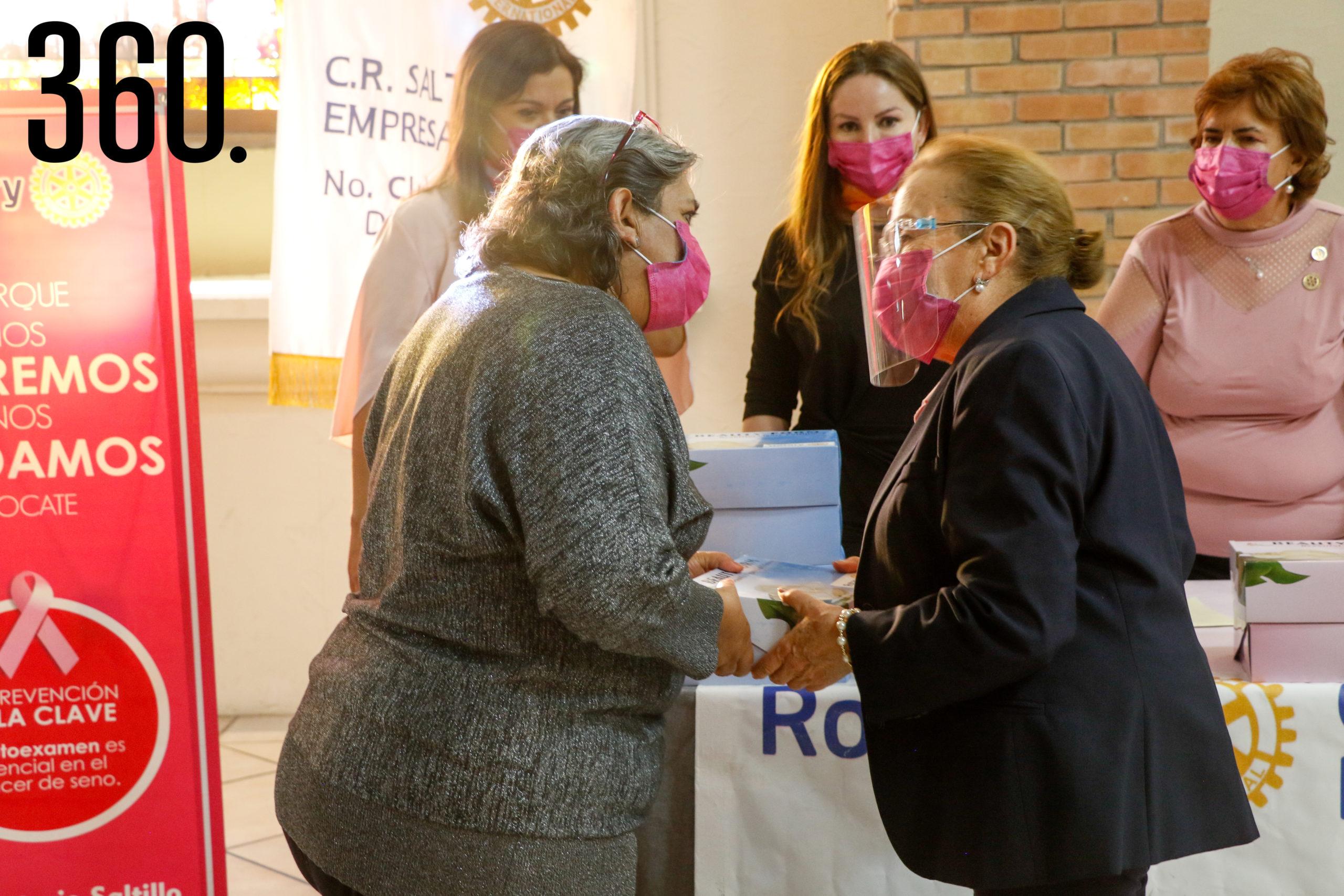 María Guadalupe Pérez y María de los Ángeles Gutiérrez.